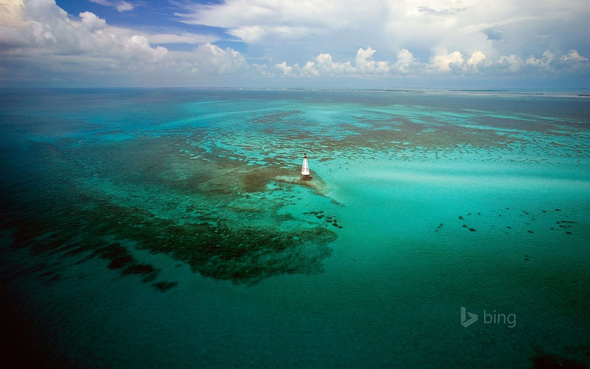 Alligator Reef Light in the Florida Keys