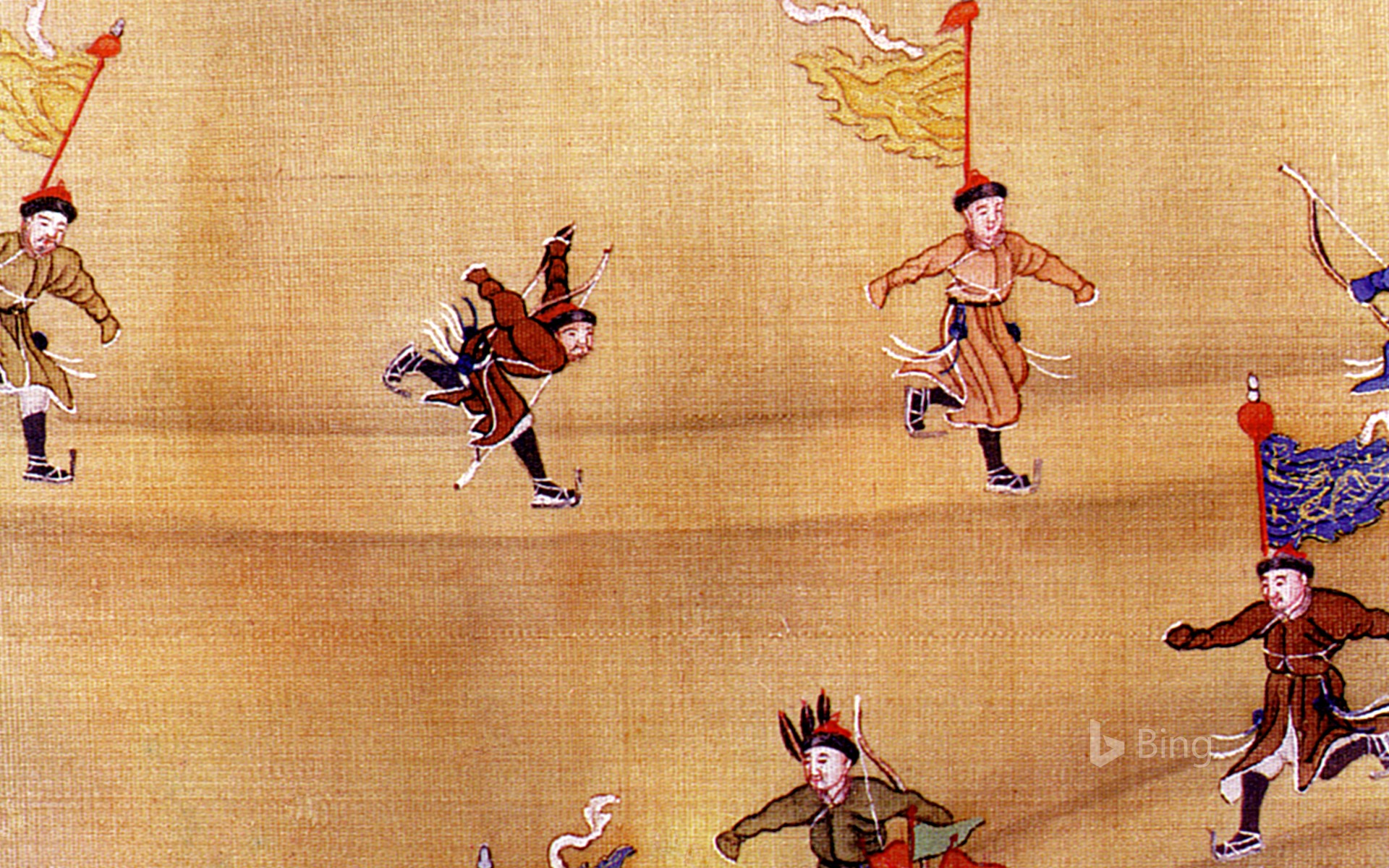 [Today's Winter Solstice] Chinese Ancient Skating Figure
