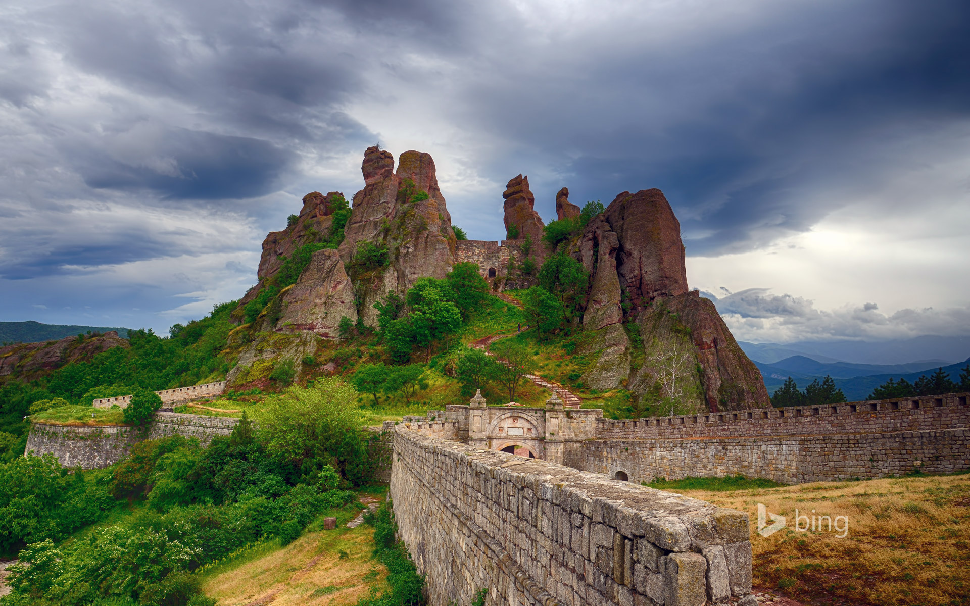 Belogradchik Fortress and the Belogradchik rocks, Bulgaria