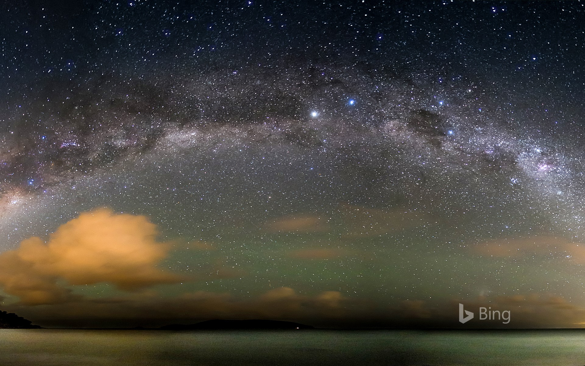 The Milky Way over the Atlantic Ocean (© Nilton Junior/500px)