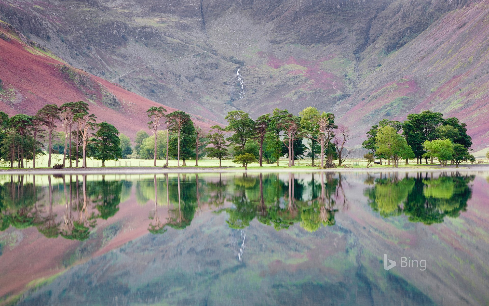 Buttermere in the Lake District, North West England