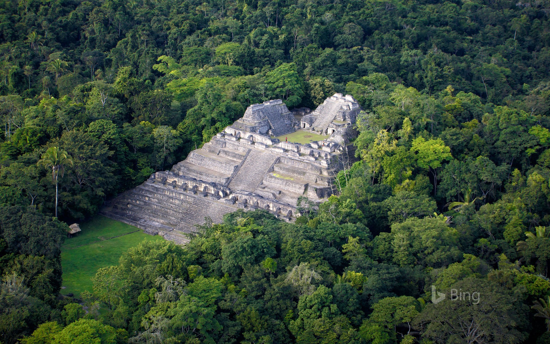 Maya archaeological site of Caracol, Belize (© Yann Arthus-Bertrand/Getty Images)