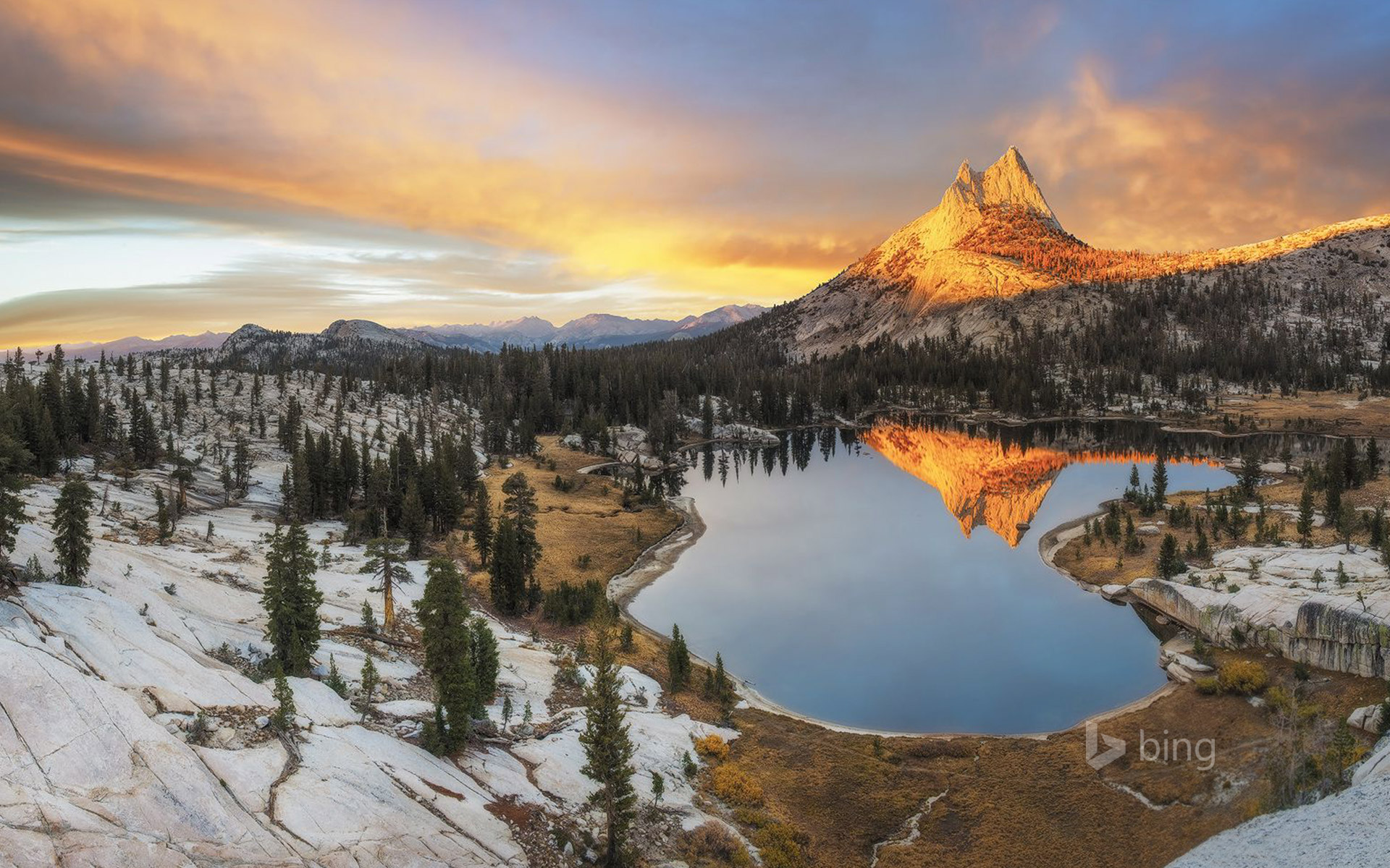 Cathedral Peak, Yosemite National Park, California
