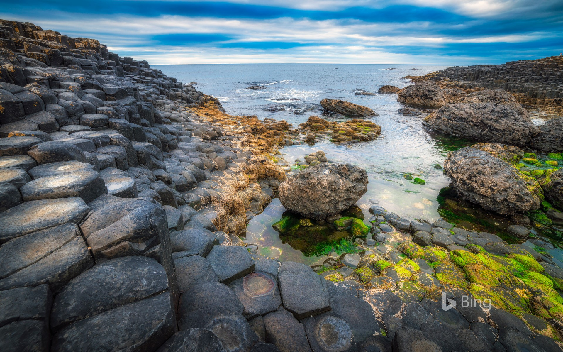 The Giant's Causeway, Bushmills, Northern Ireland, UK