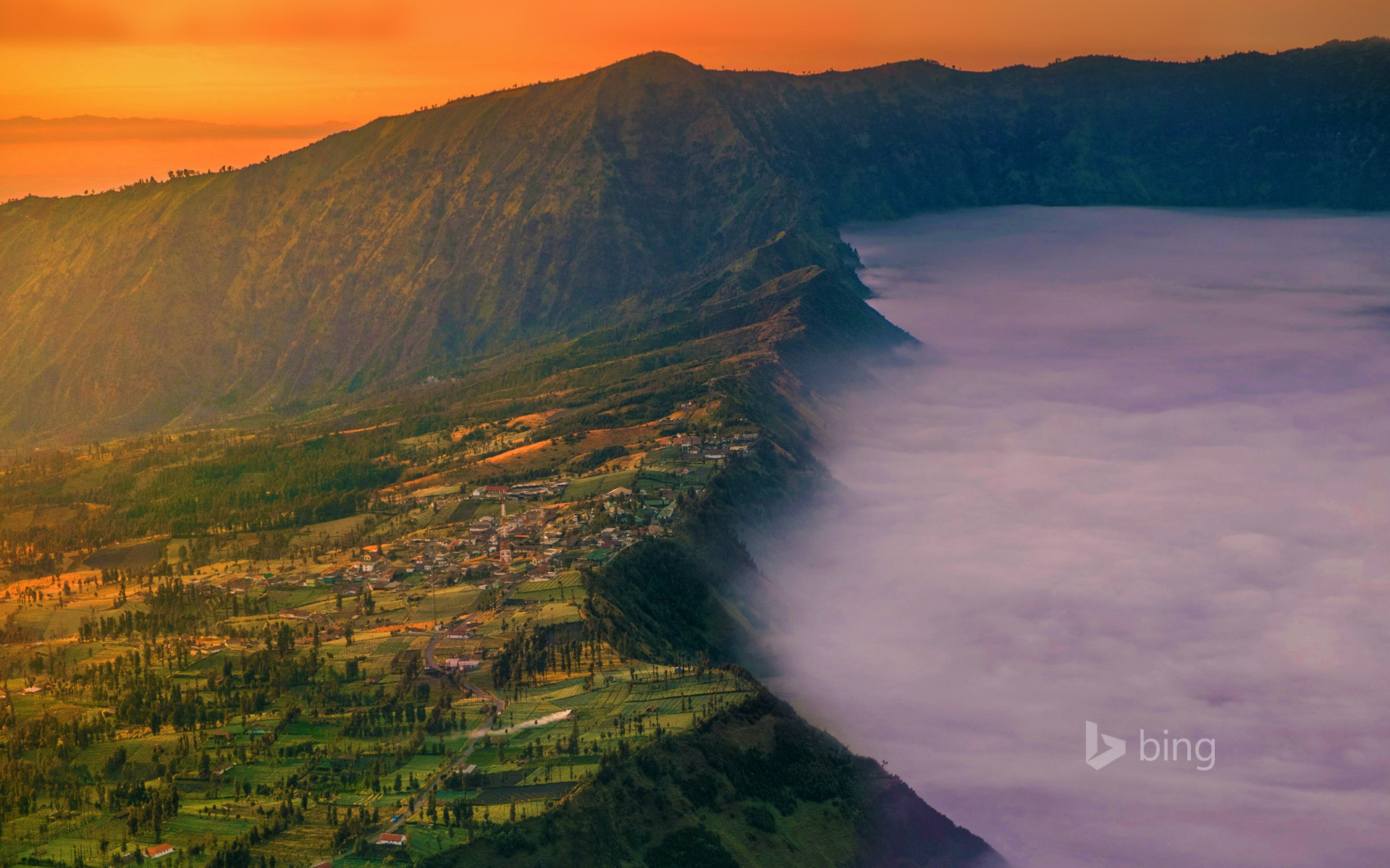 Cemoro Lawang near Mount Bromo, East Java, Indonesia