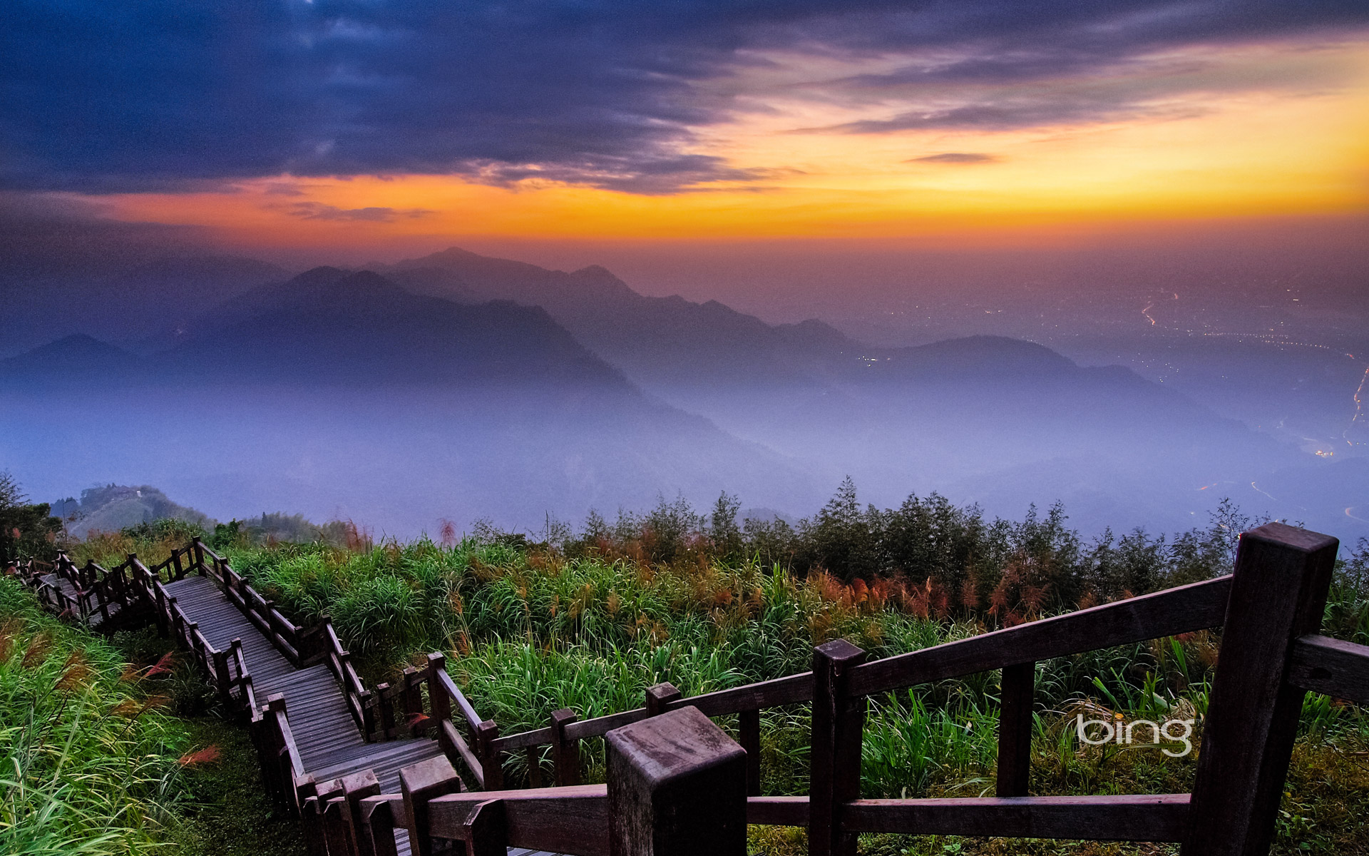 Alishan National Scenic Area, Chiayi County, Taiwan