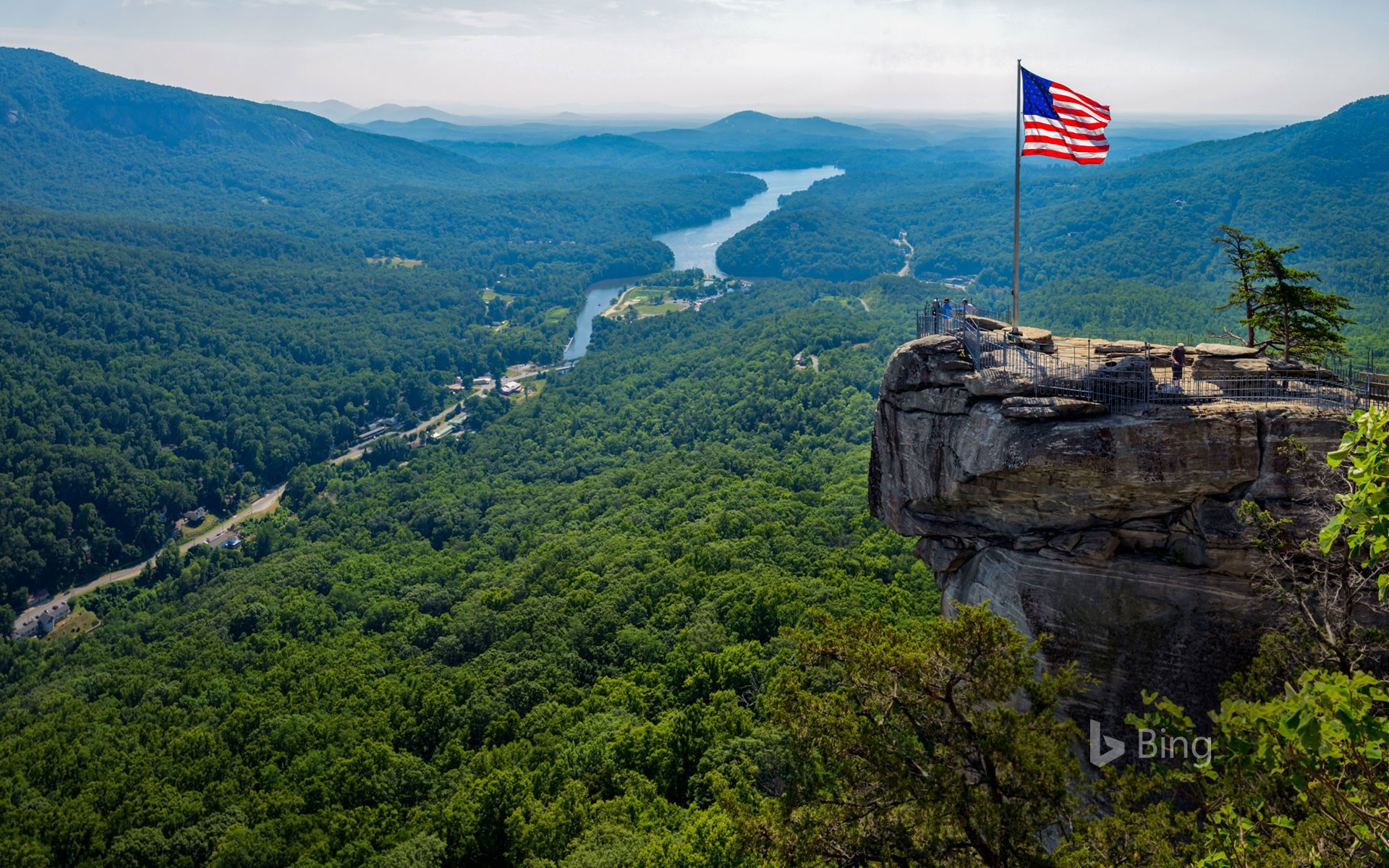 Chimney Rock State Park in North Carolina