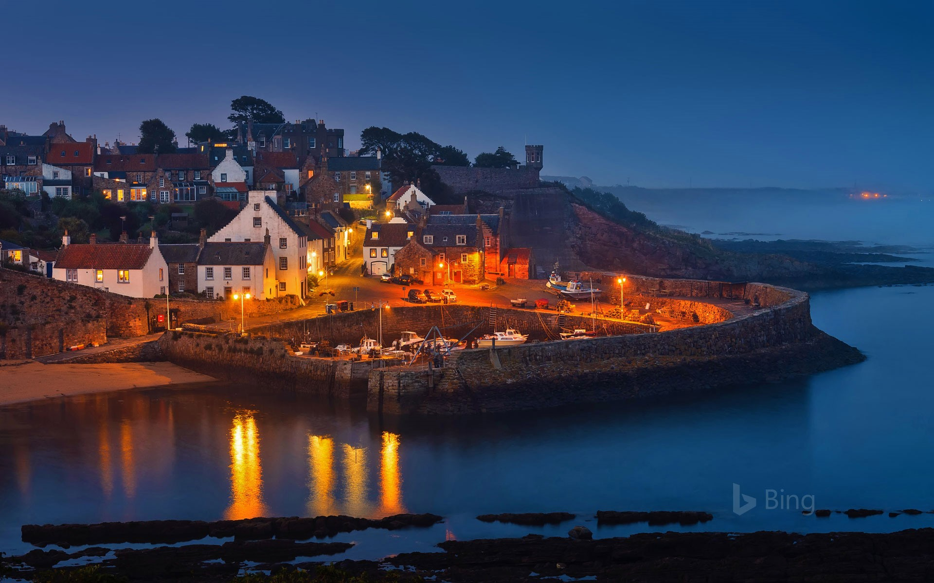 Crail Harbour in the East Neuk of Fife, Scotland