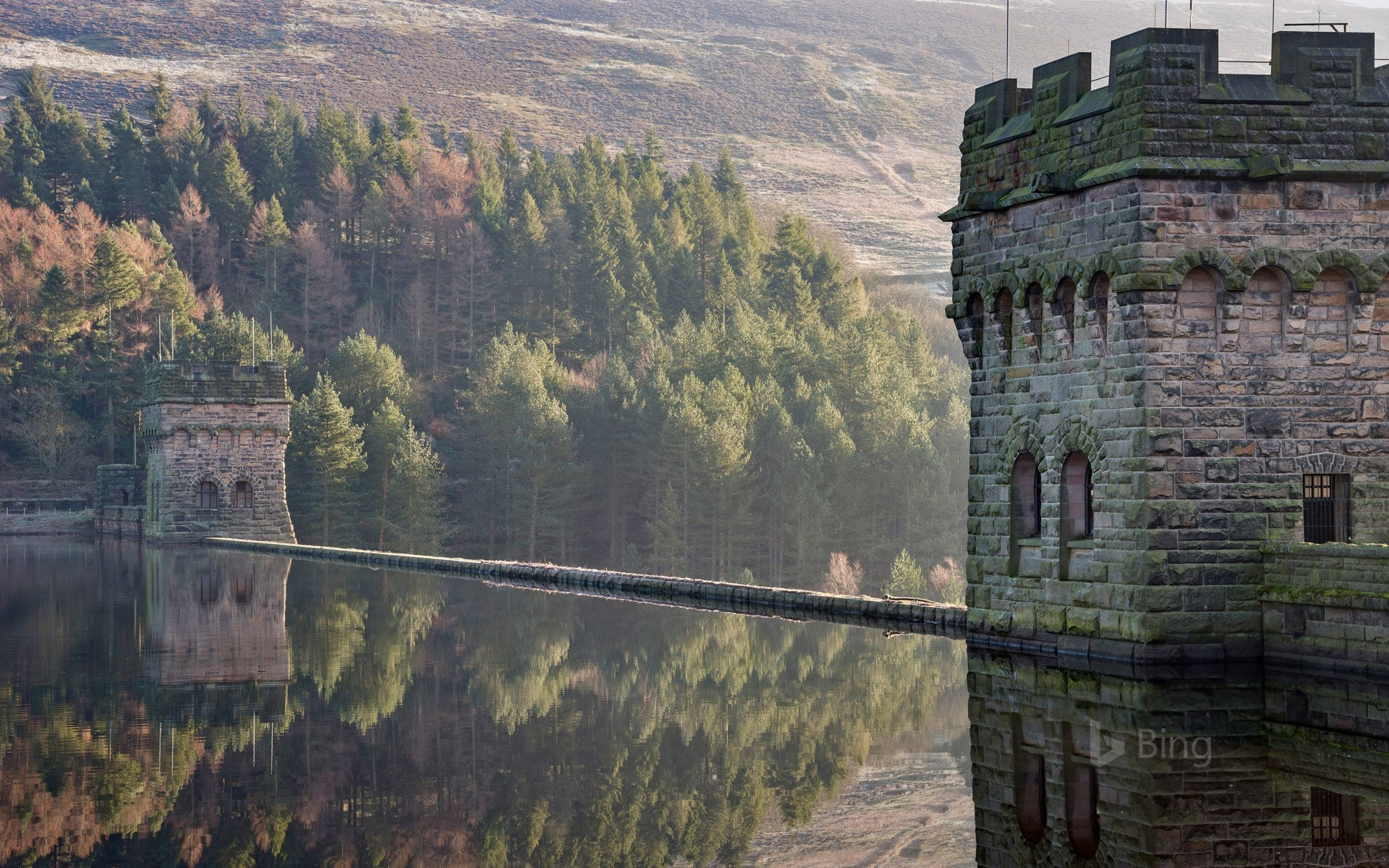 Derwent Reservoir in Derbyshire
