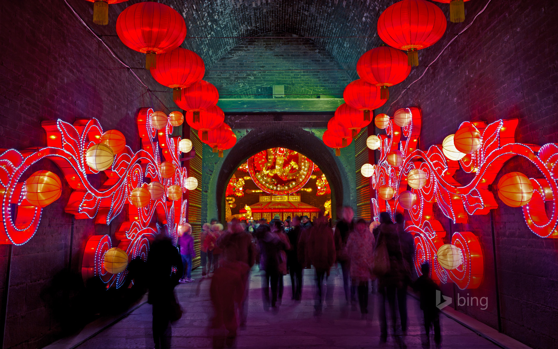 South Gate of the fortifications of Xi'an, China