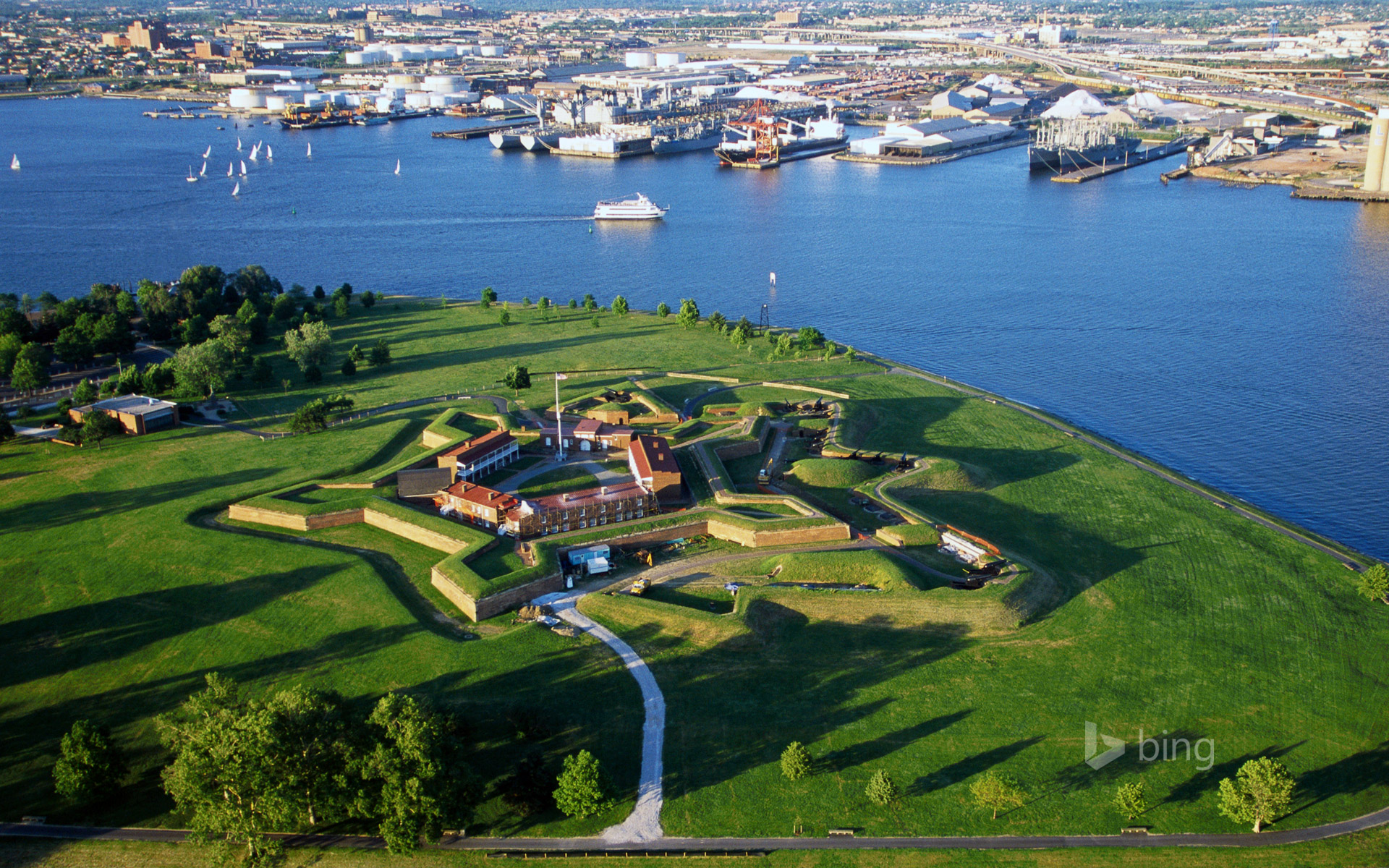Fort McHenry National Monument and Historic Shrine, Baltimore, Maryland