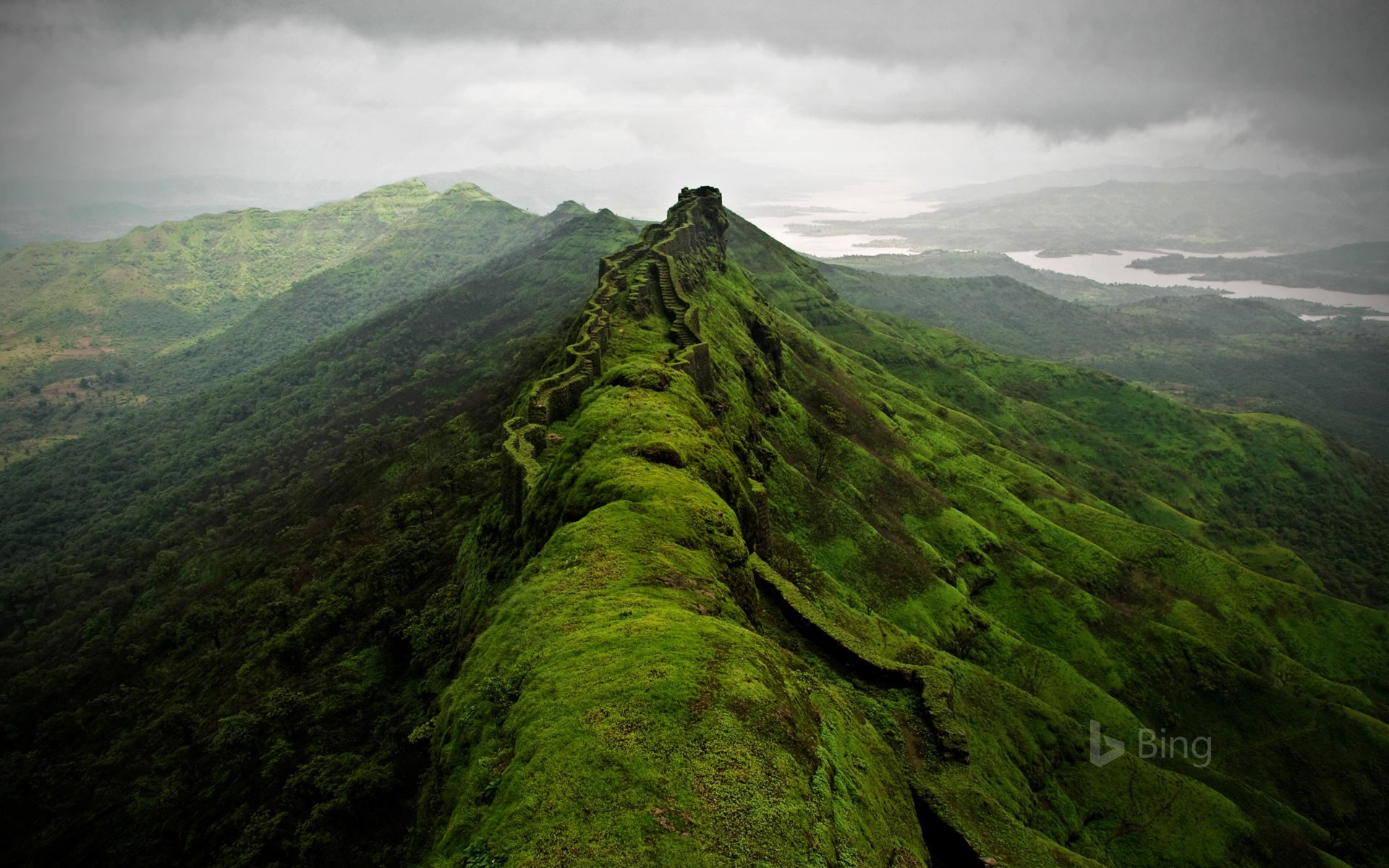 Rajgad Fort near Pune, India