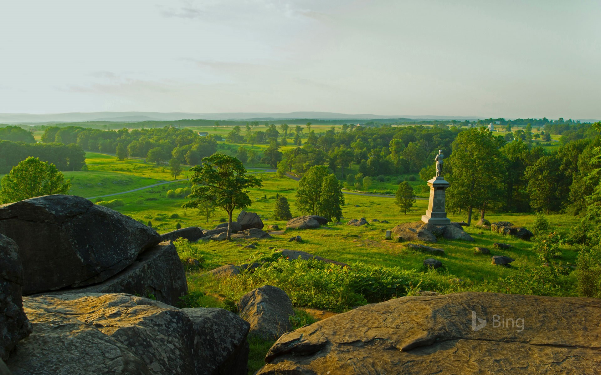 The monument to the 155th Pennsylvania Infantry at Gettysburg, Pennsylvania