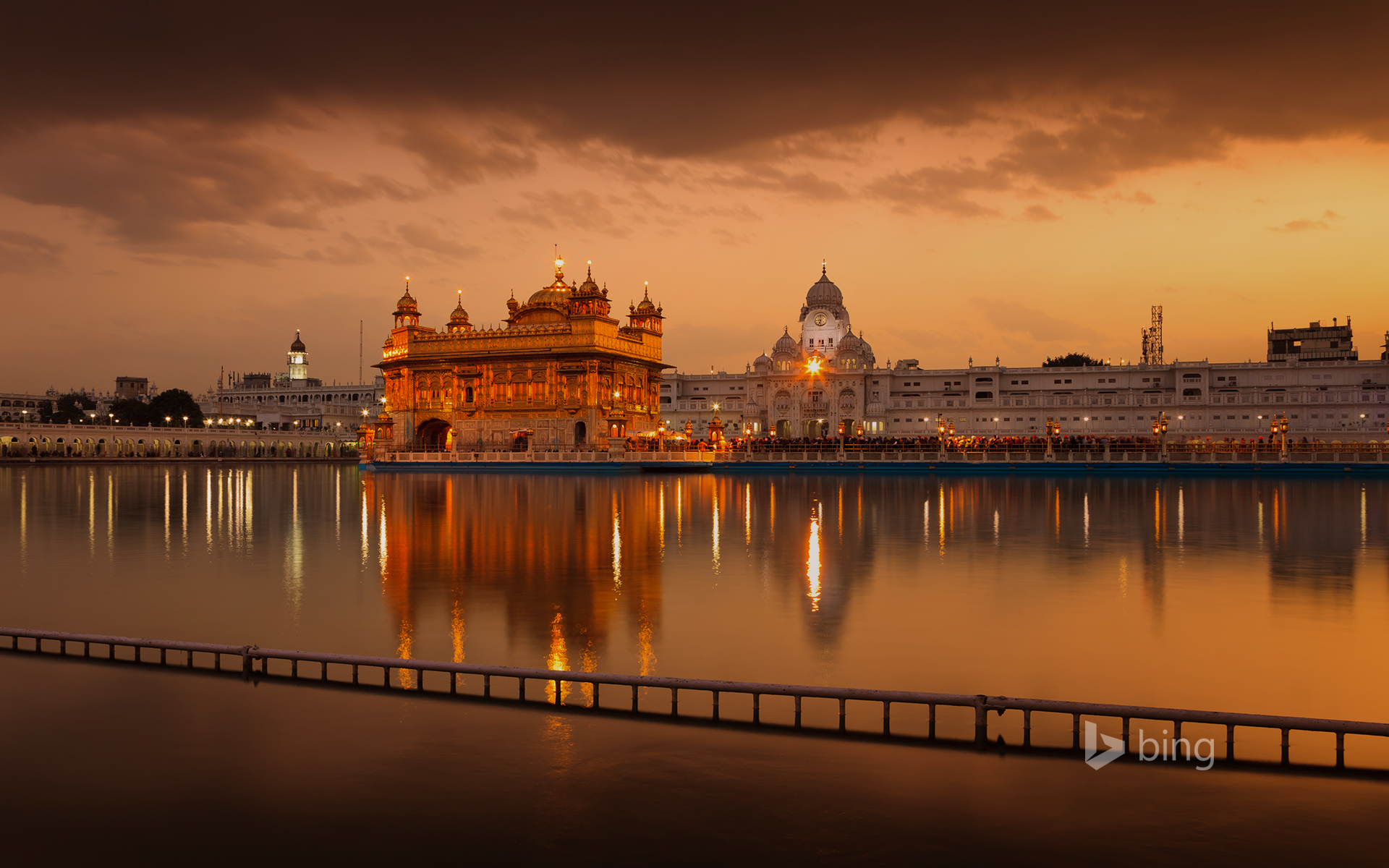 The Golden Temple in Punjab, India