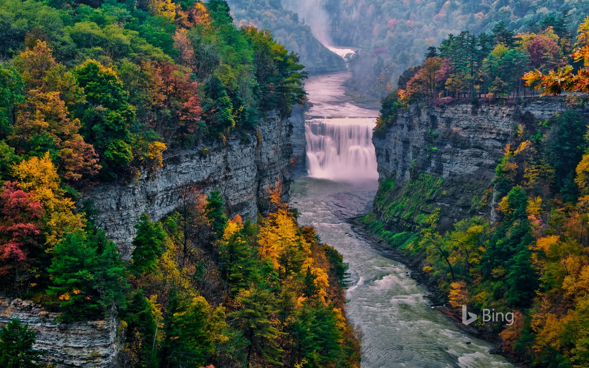 Letchworth State Park, New York (© Jay O'Brien/Danita Delimont)