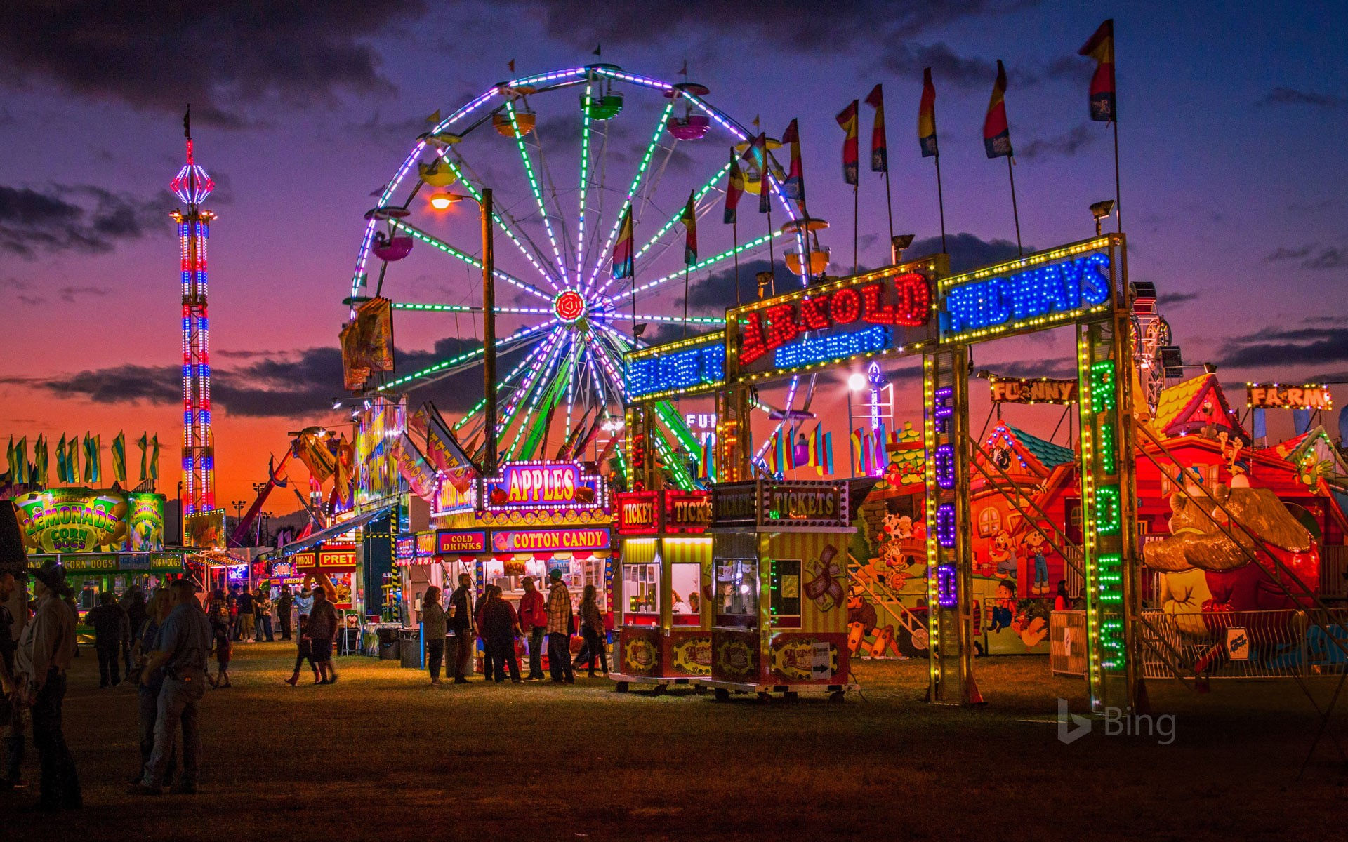 Hardee County Fair in Wauchula, Florida