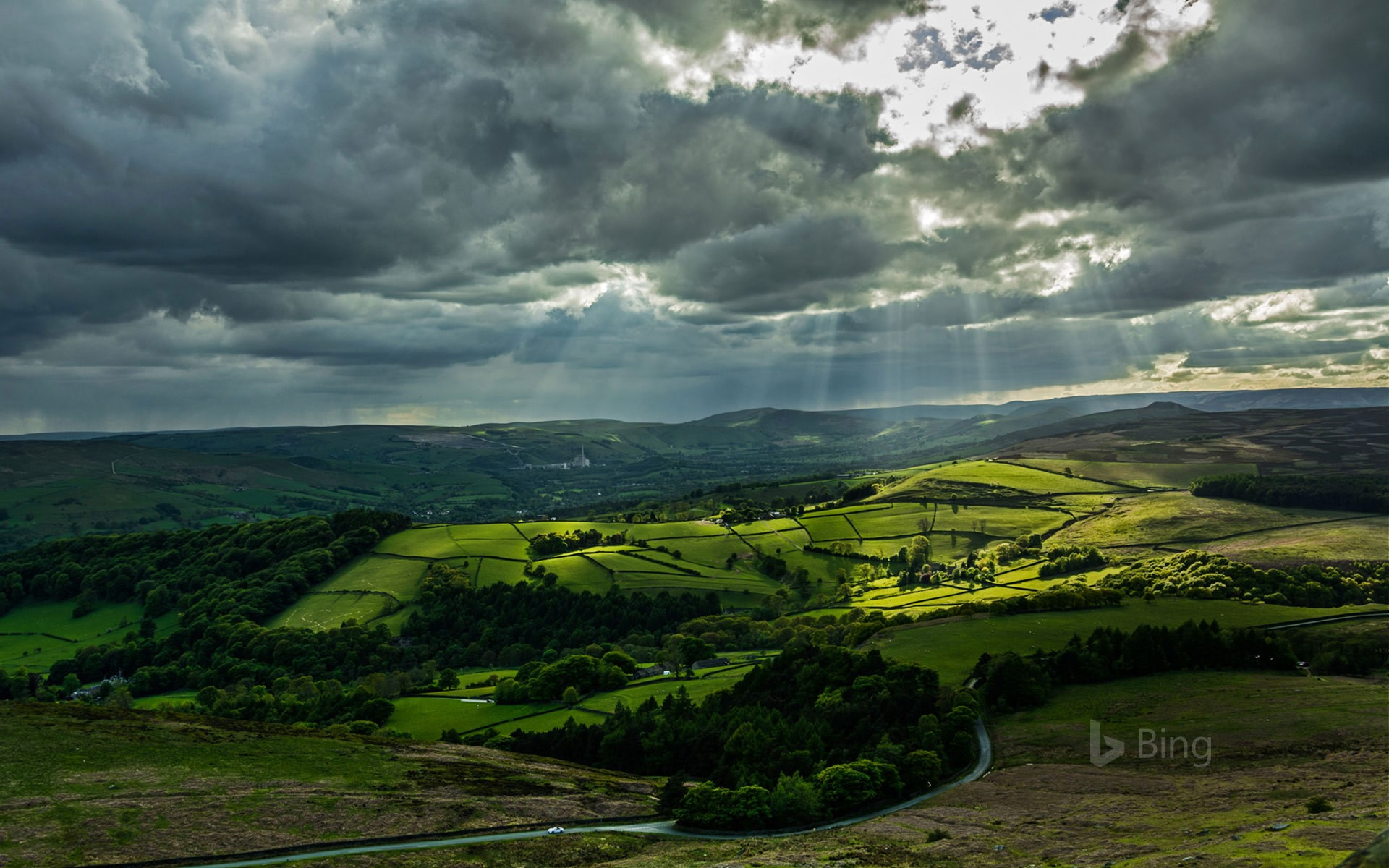 Hope Valley, Peak District, England