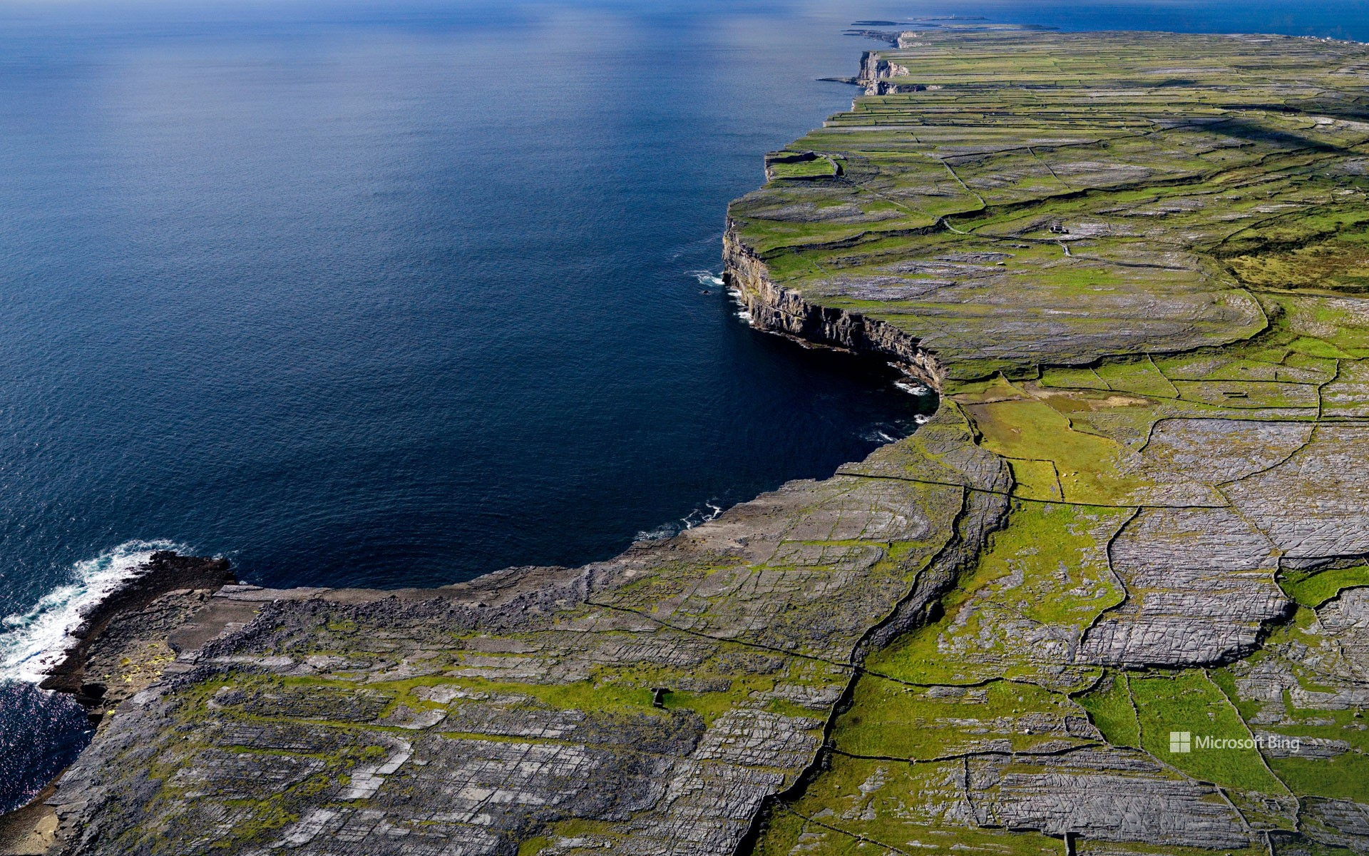 Inisheer, the smallest of the three Aran Islands in Galway Bay, Ireland
