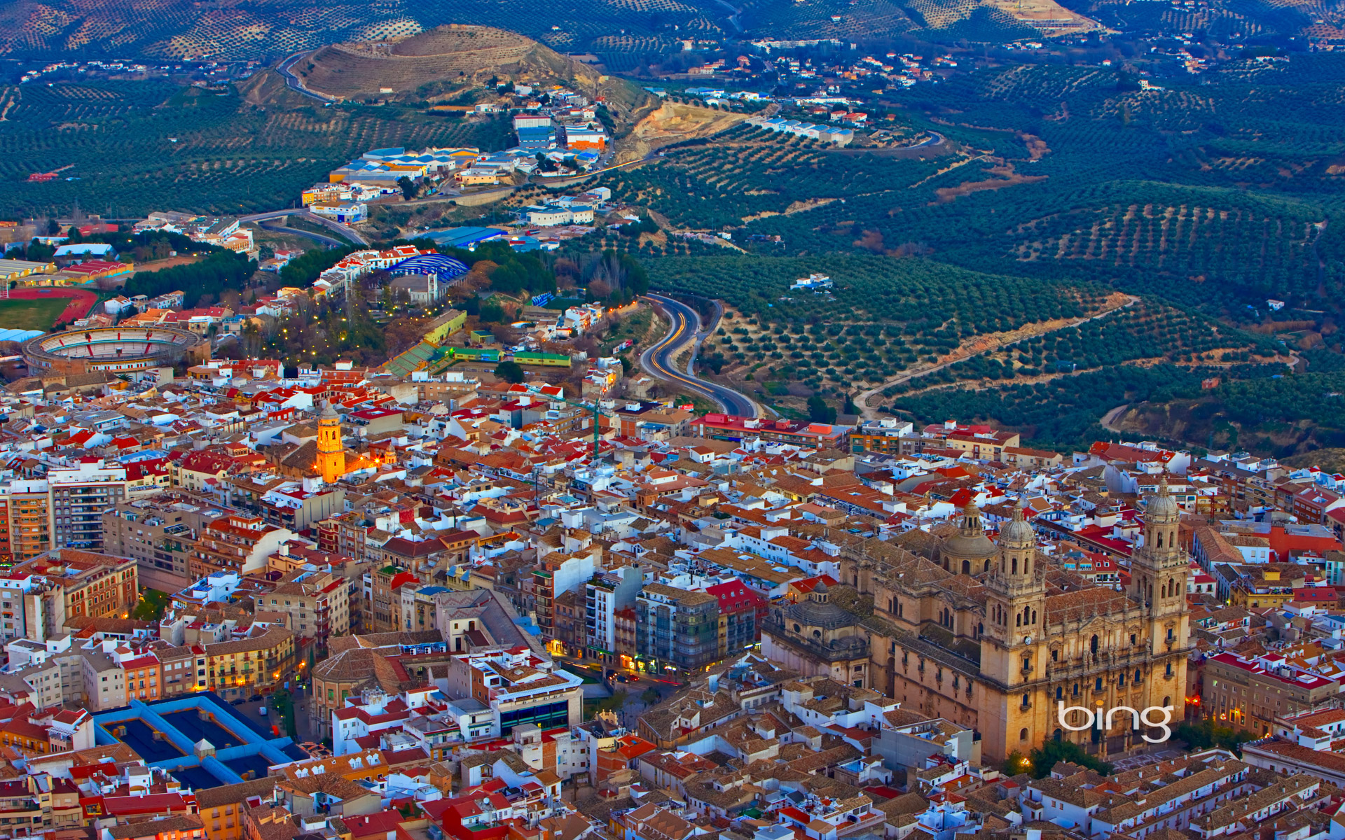 City of Jaén in Andalusia, Spain