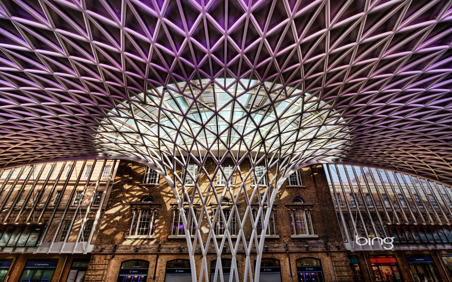 Western Concourse at King's Cross station, London, England