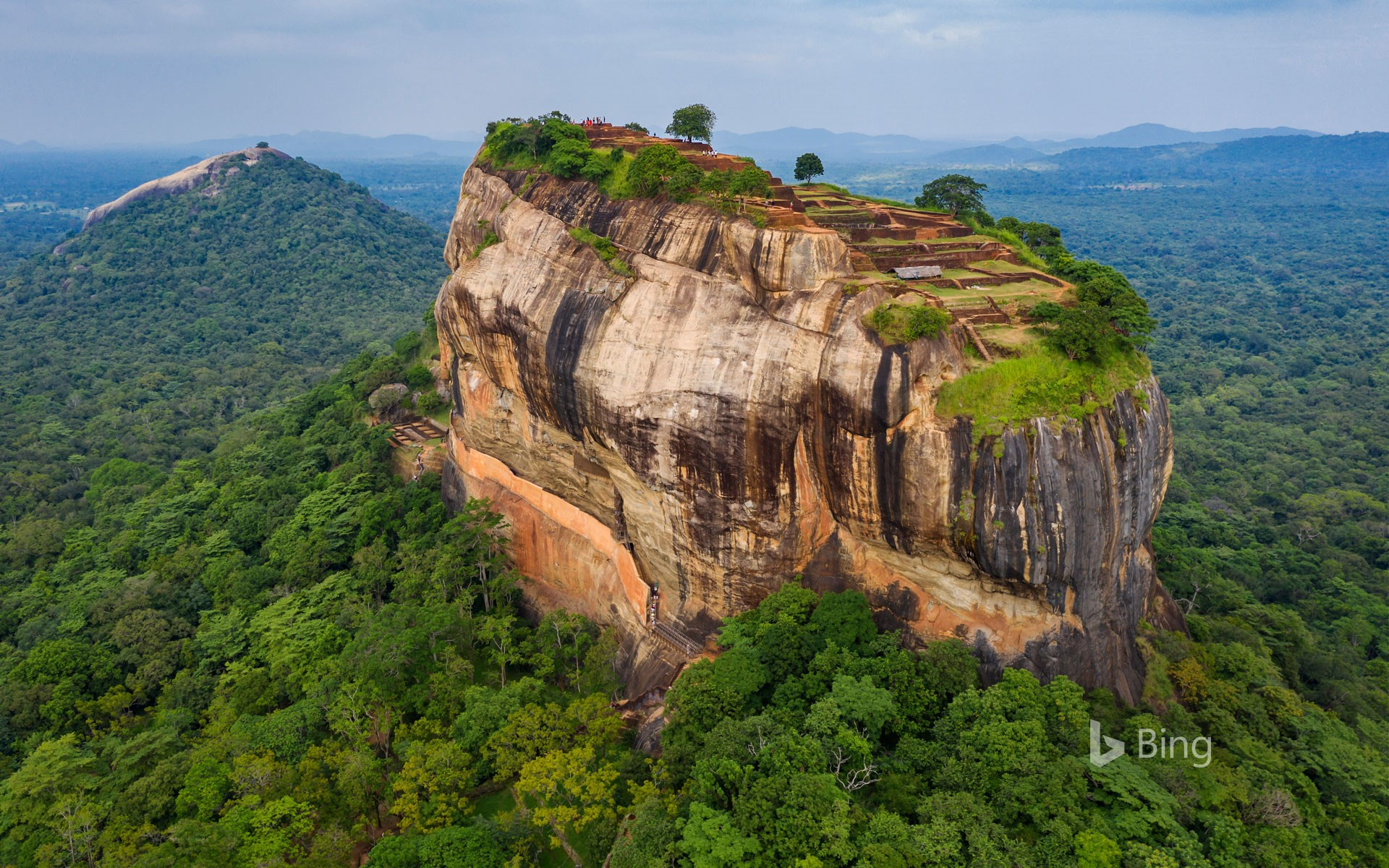 Sigiriya Rock, Central Province, Sri Lanka