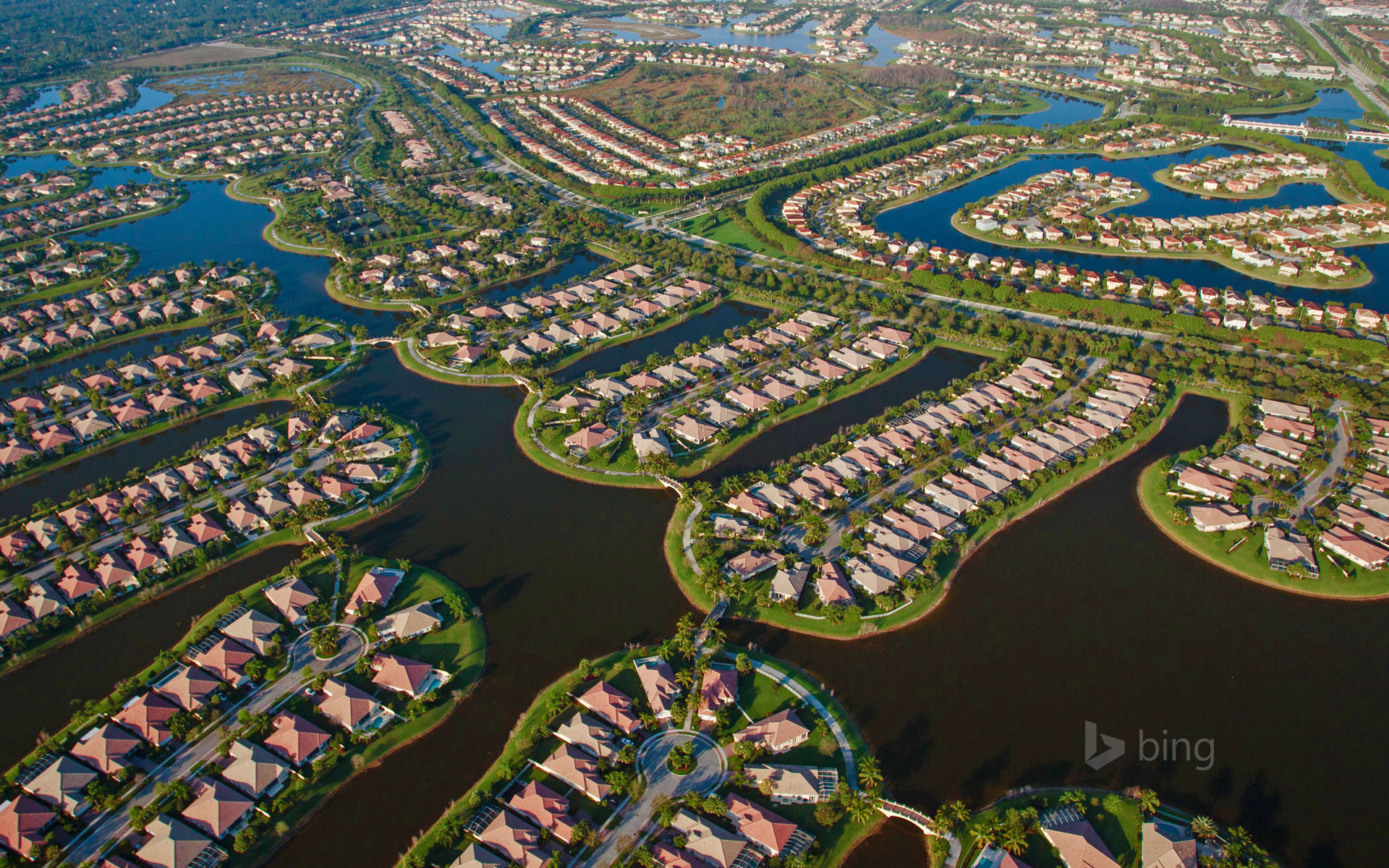 Housing development, West Palm Beach, Florida