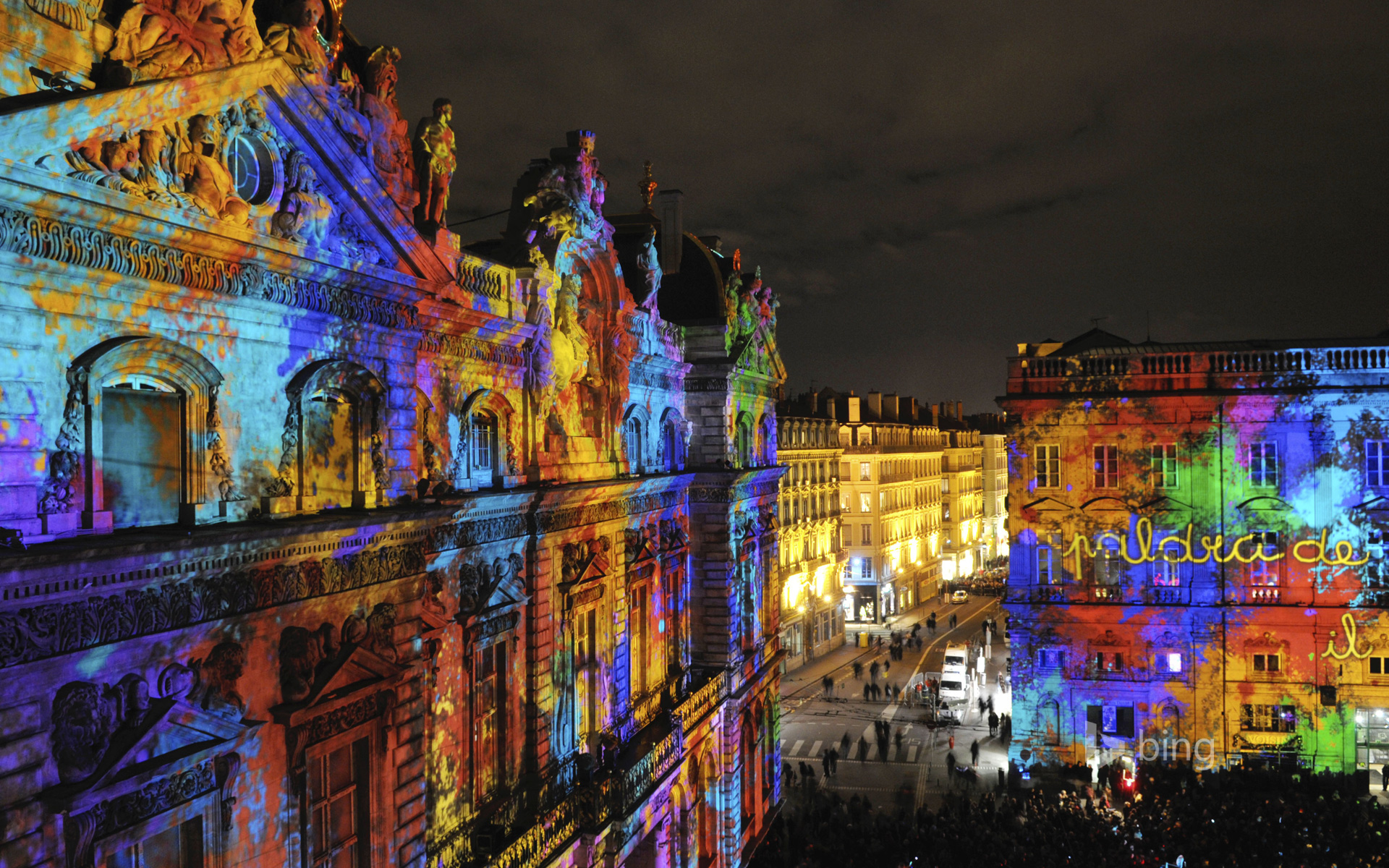 Festival of Lights, Lyon, Rhône-Alpes, France