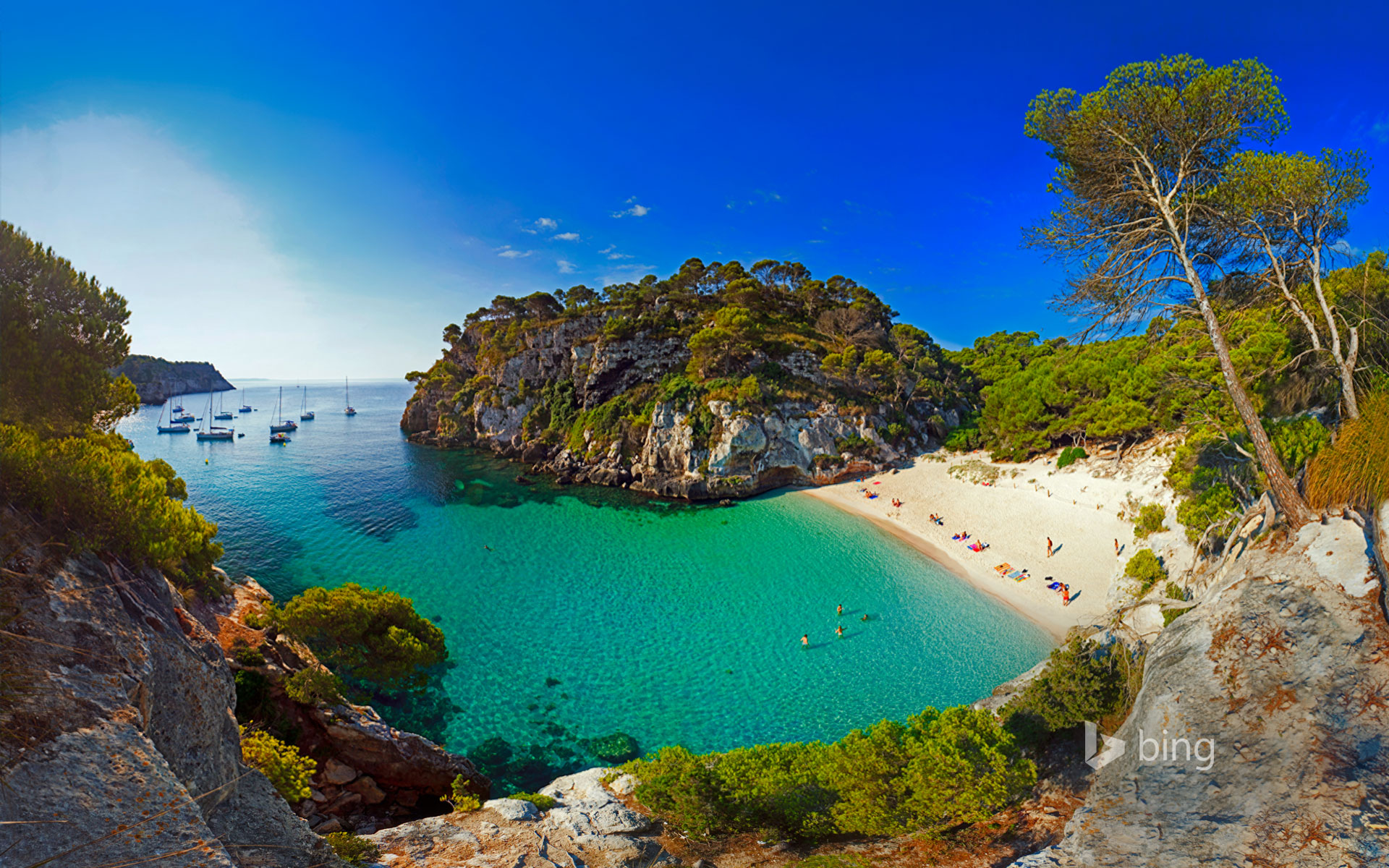 Macarelleta Beach, Menorca, Spain
