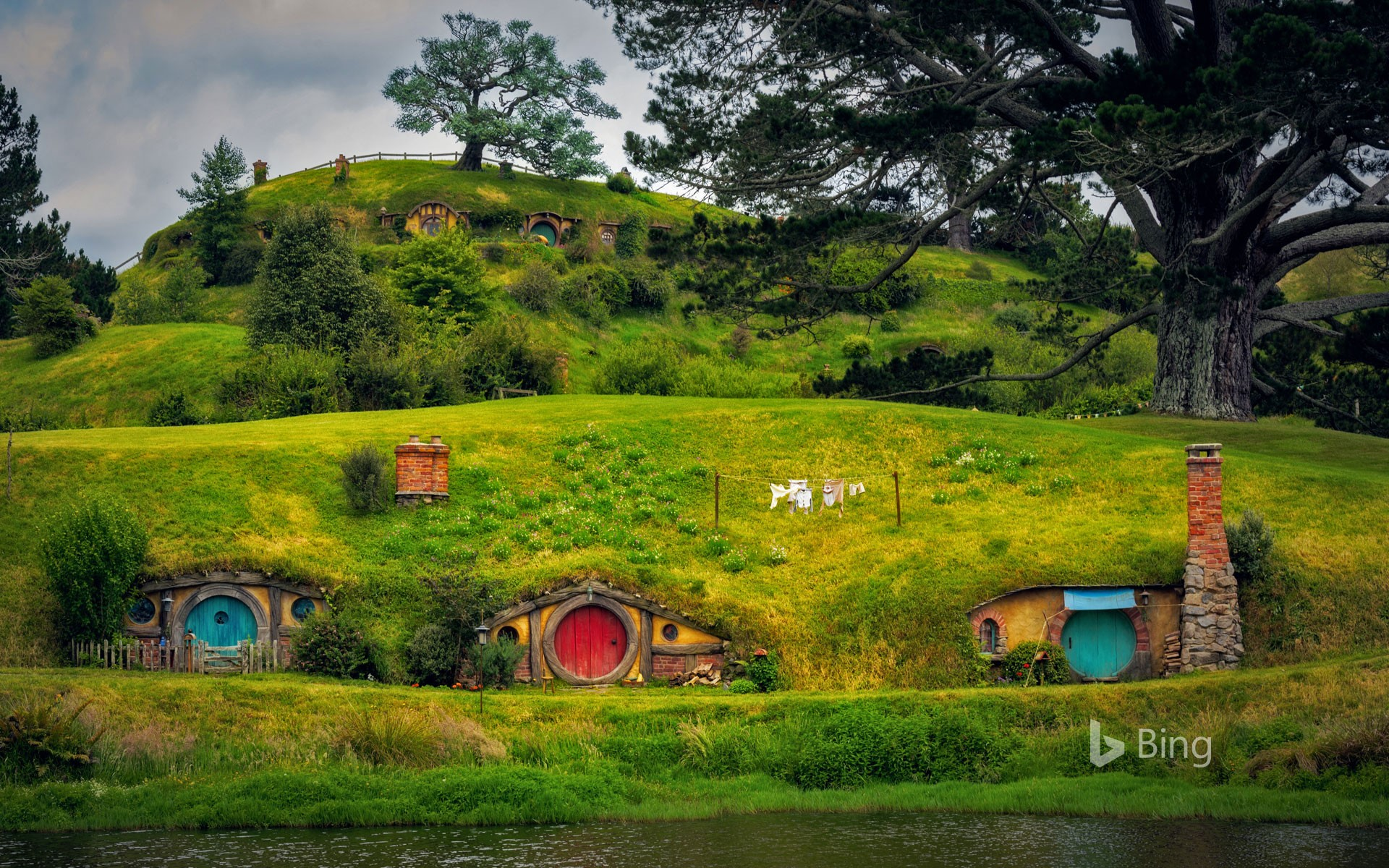 Hobbiton, near Matamata, North Island, New Zealand