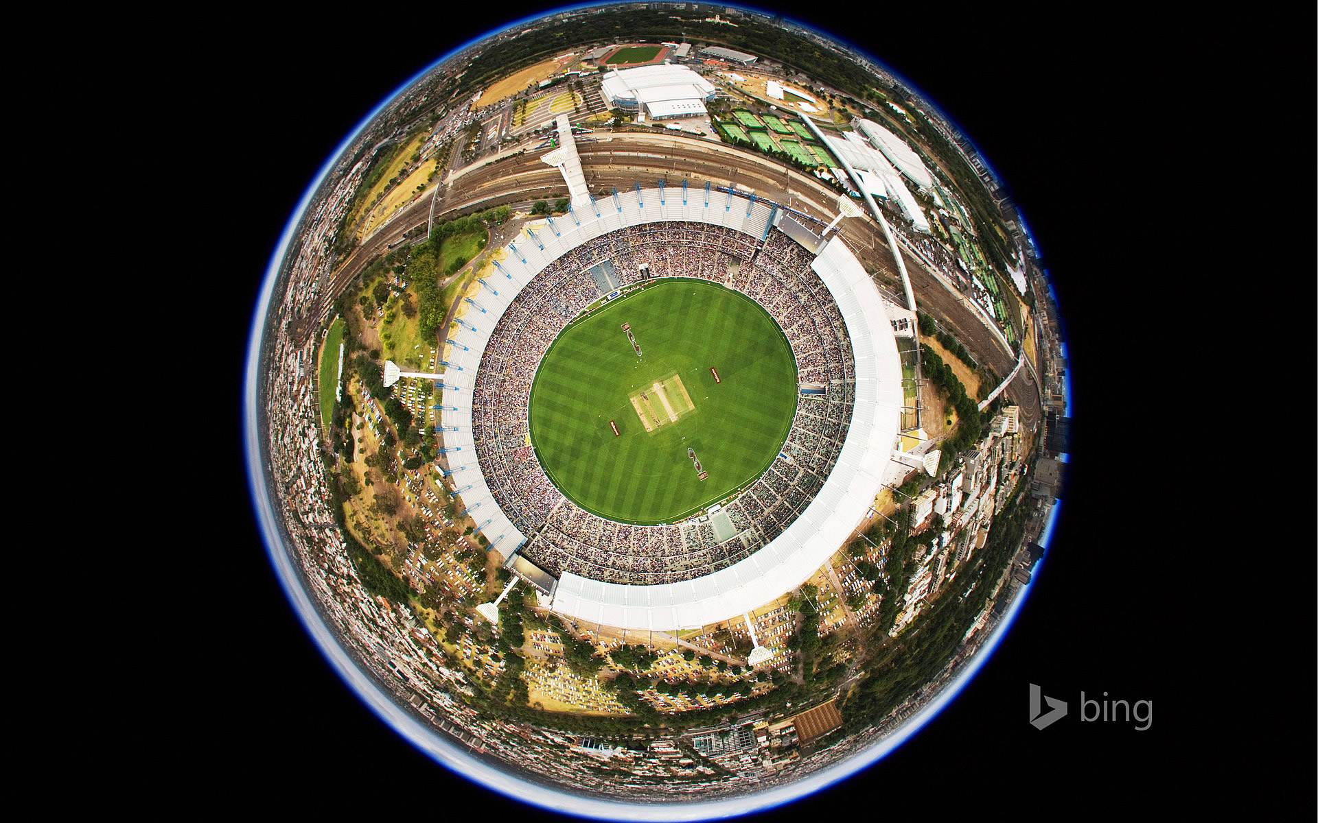 Melbourne Cricket Ground in Victoria, Australia