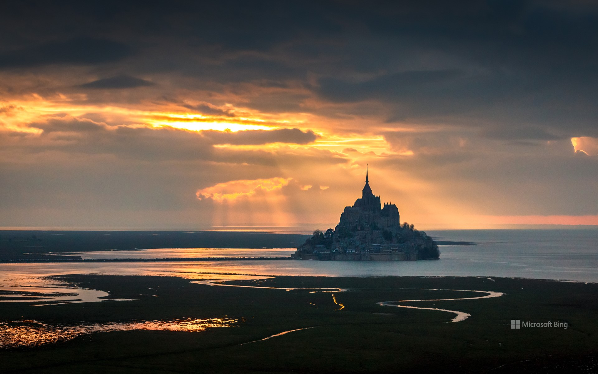Mont-Saint-Michel, Normandy, France