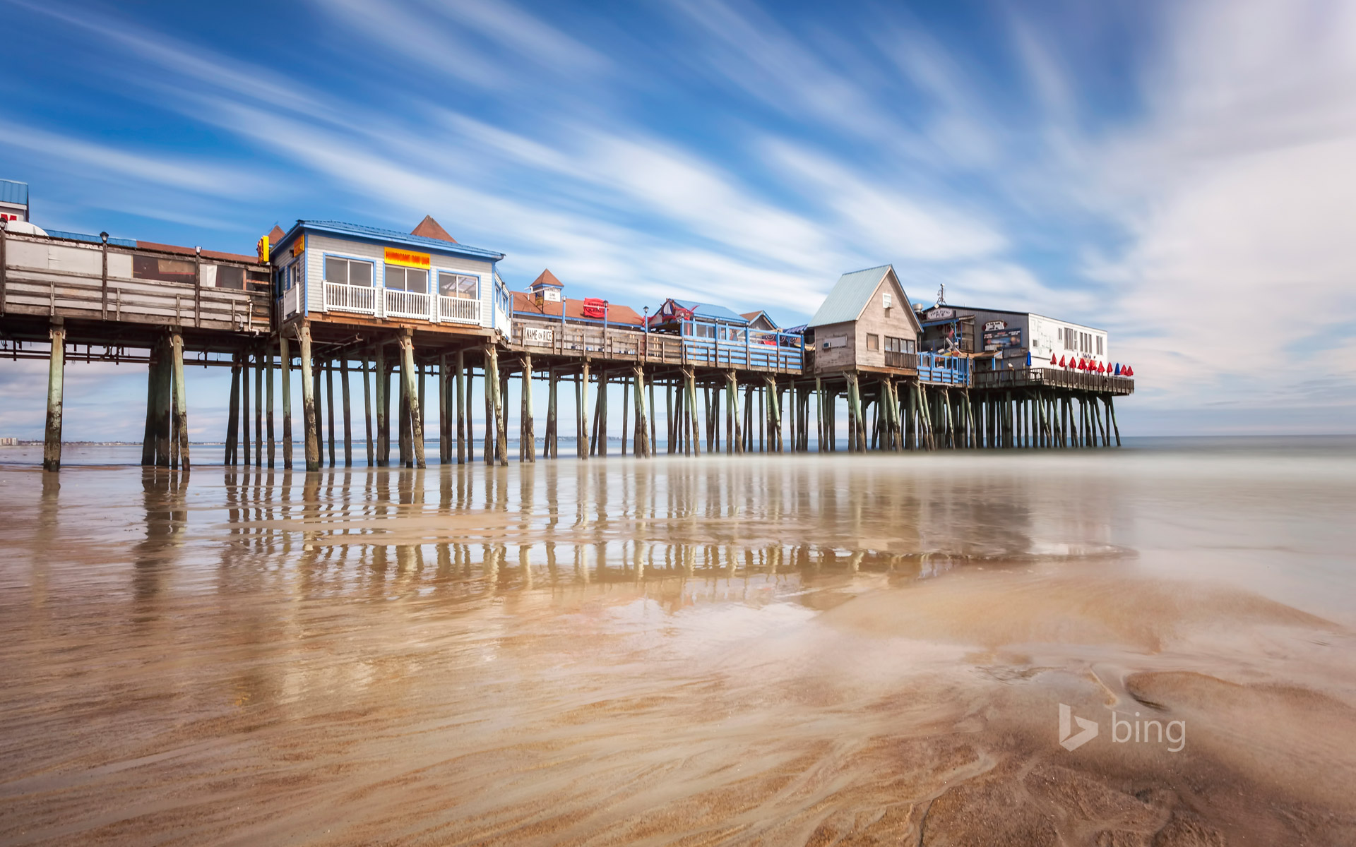 Pier at Old Orchard Beach, Maine