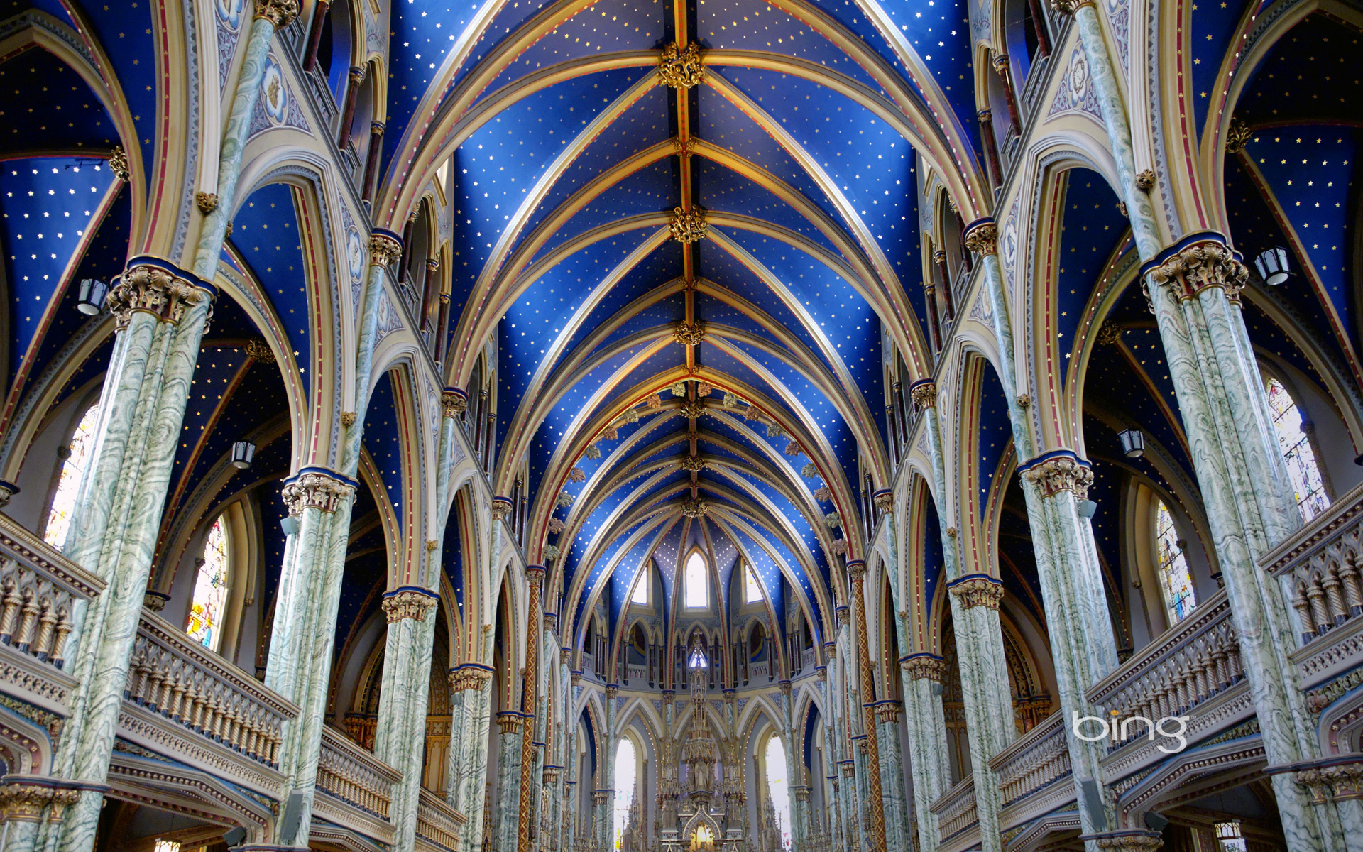 Notre-Dame Cathedral Basilica of Ottawa, Ontario, Canada
