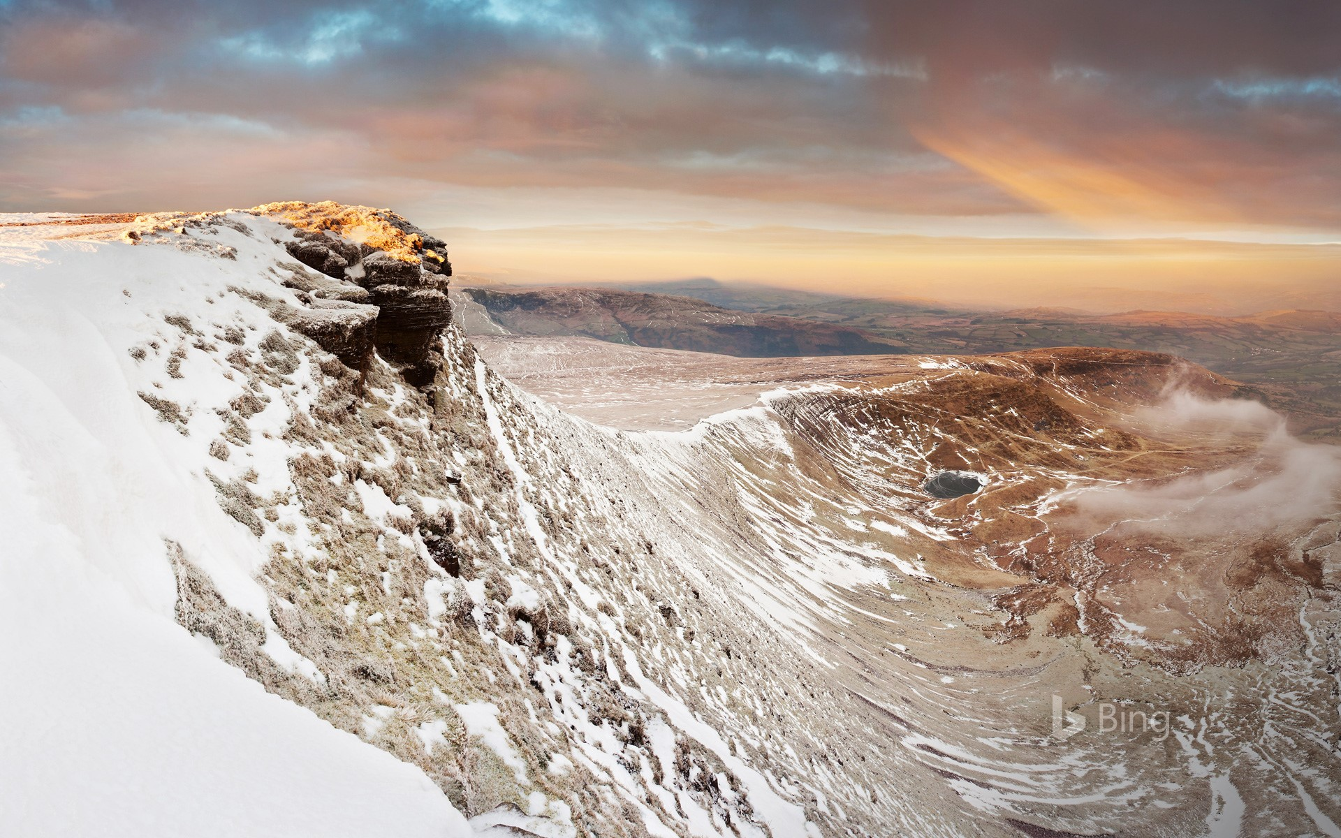 Pen y Fan in the Brecon Beacons National Park, South Wales