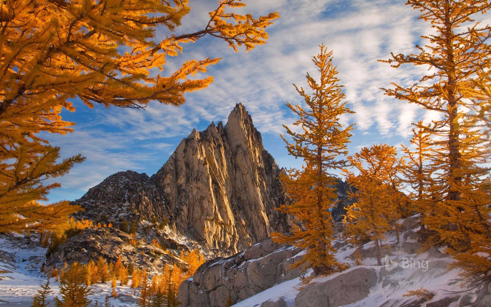 Prusik Peak in the Enchantments of Washington state, USA
