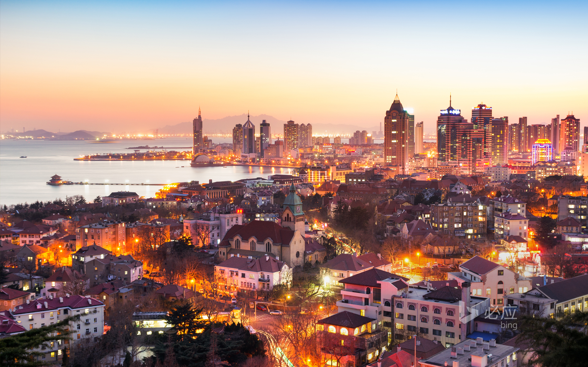Qingdao night scene