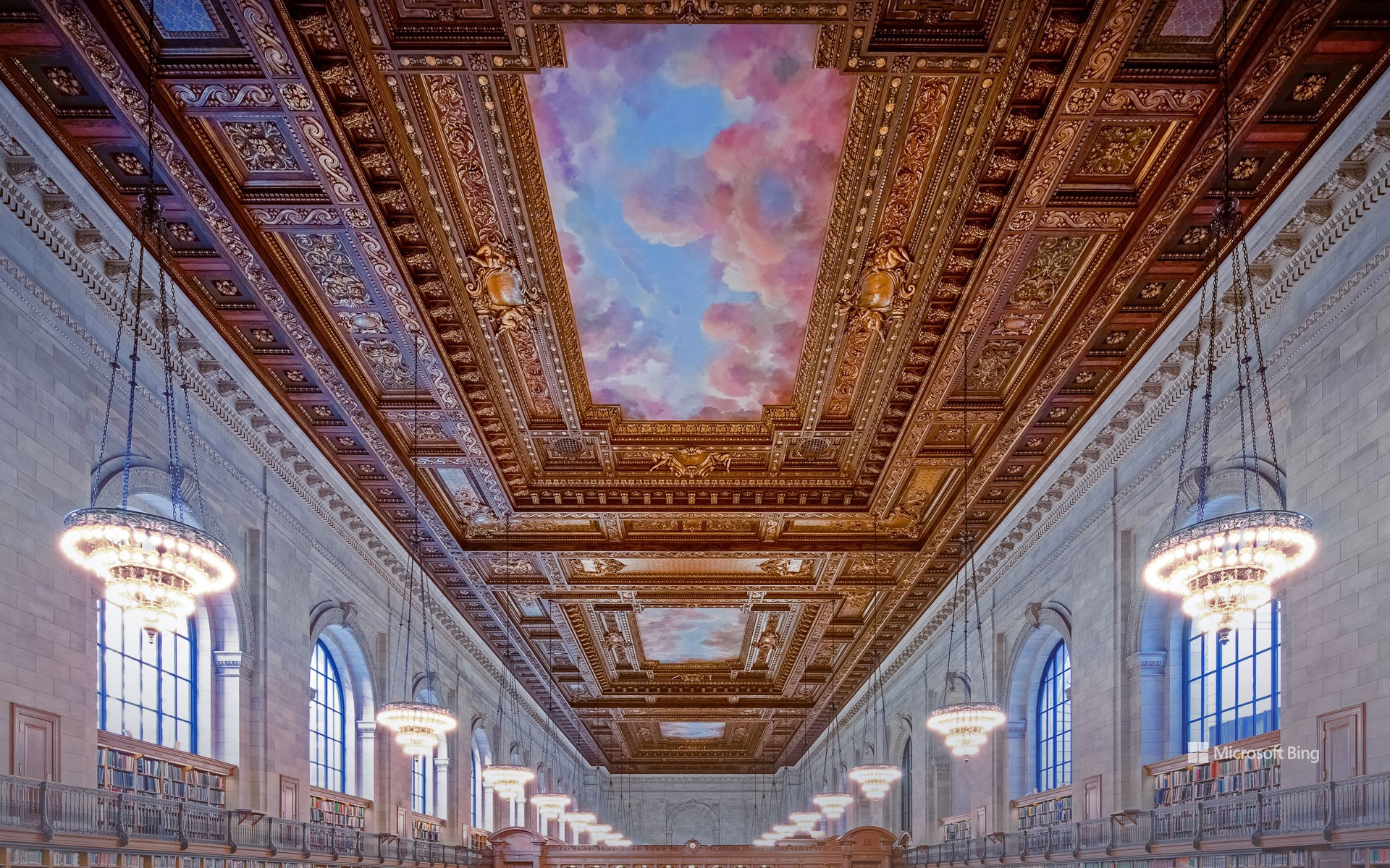 The Rose Main Reading Room, New York Public Library, USA