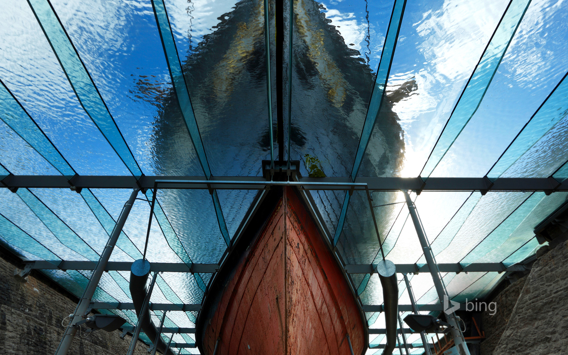 Bow of the SS Great Britain, Bristol, England
