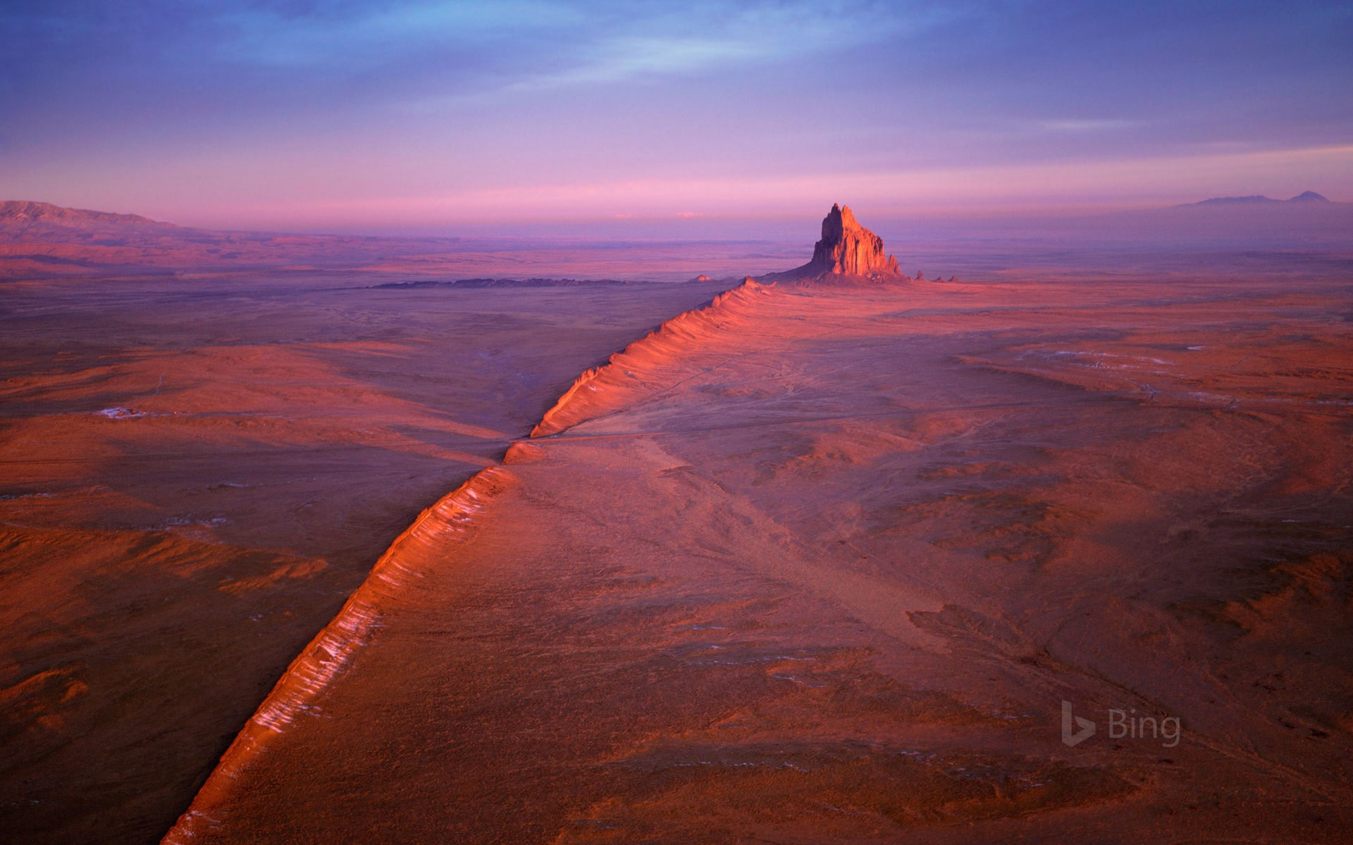 Shiprock in the Navajo Nation of New Mexico (© Wild Horizon/Getty Images)