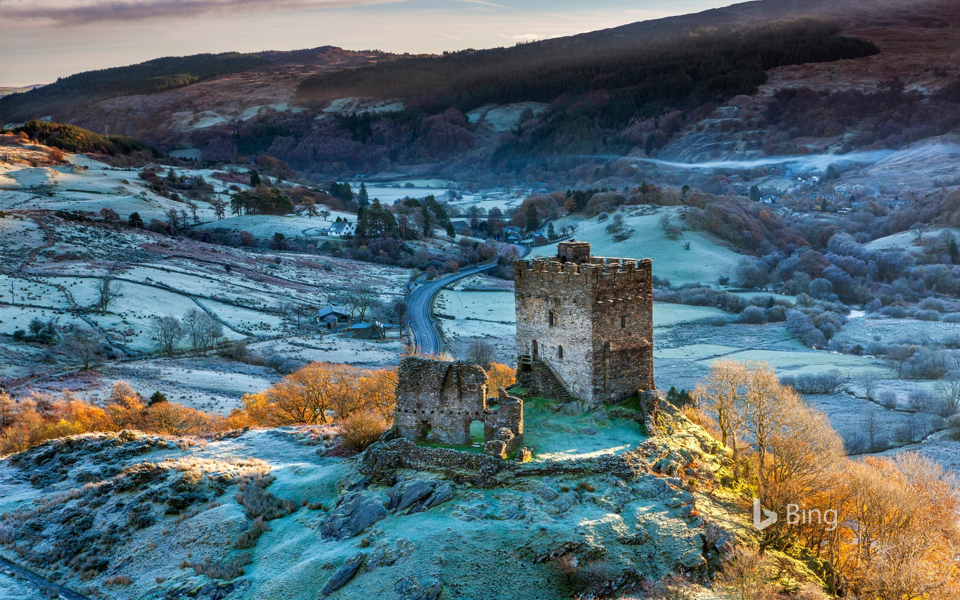 Dolwyddelan Castle, Snowdonia National Park, Conwy, Wales