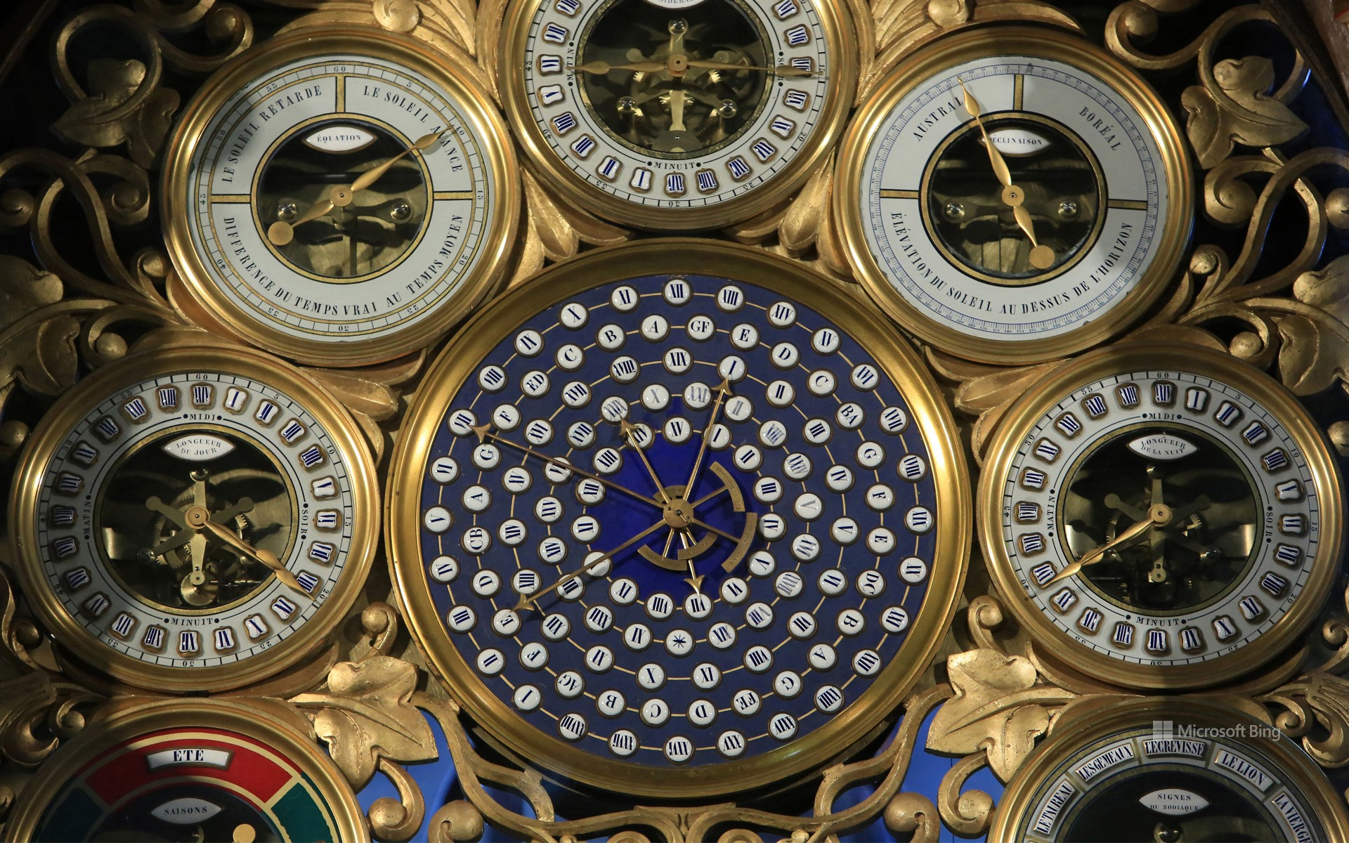 The astronomical clock of Saint-Pierre de Beauvais Cathedral