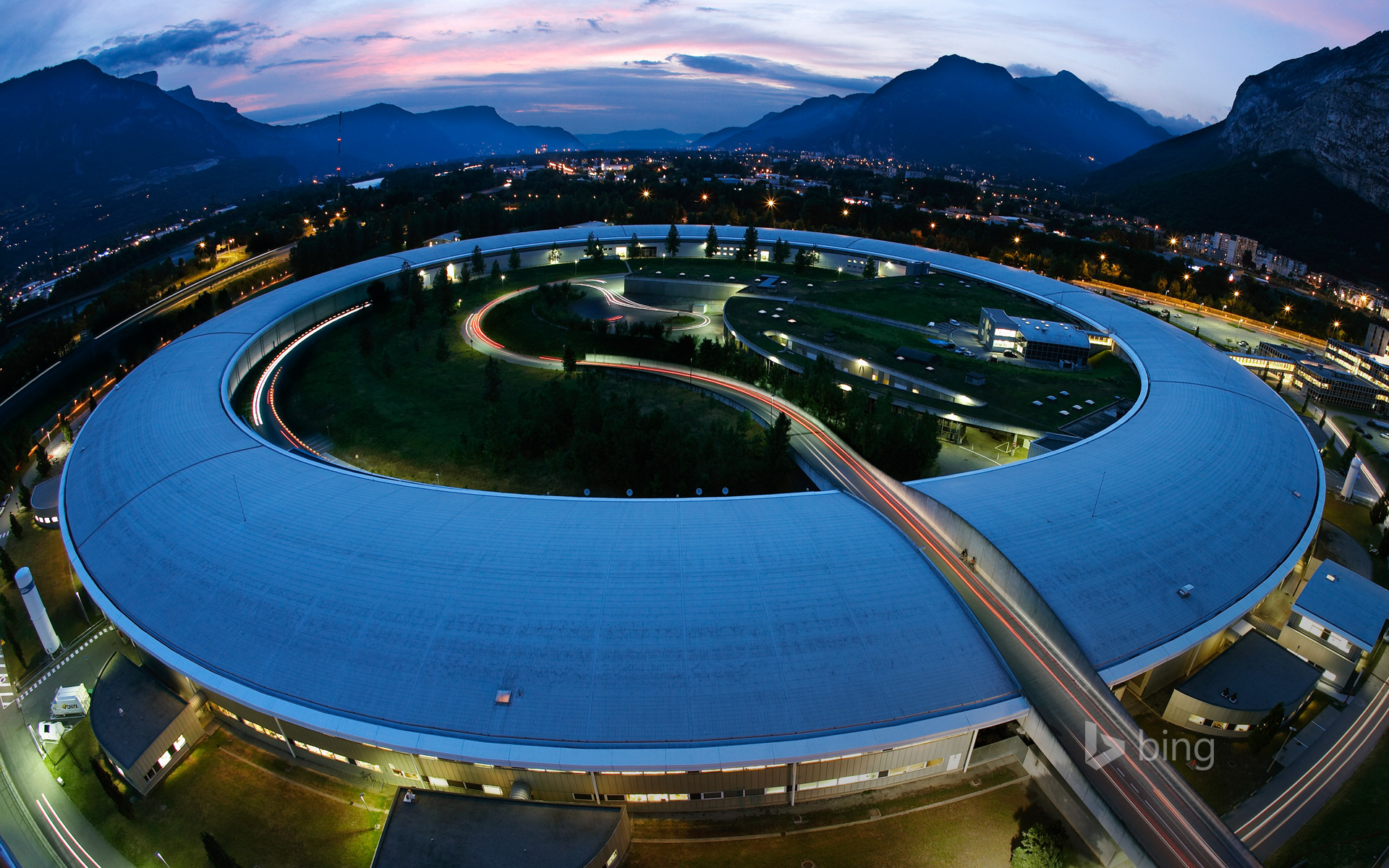 The European Synchrotron Radiation Facility, Grenoble, France