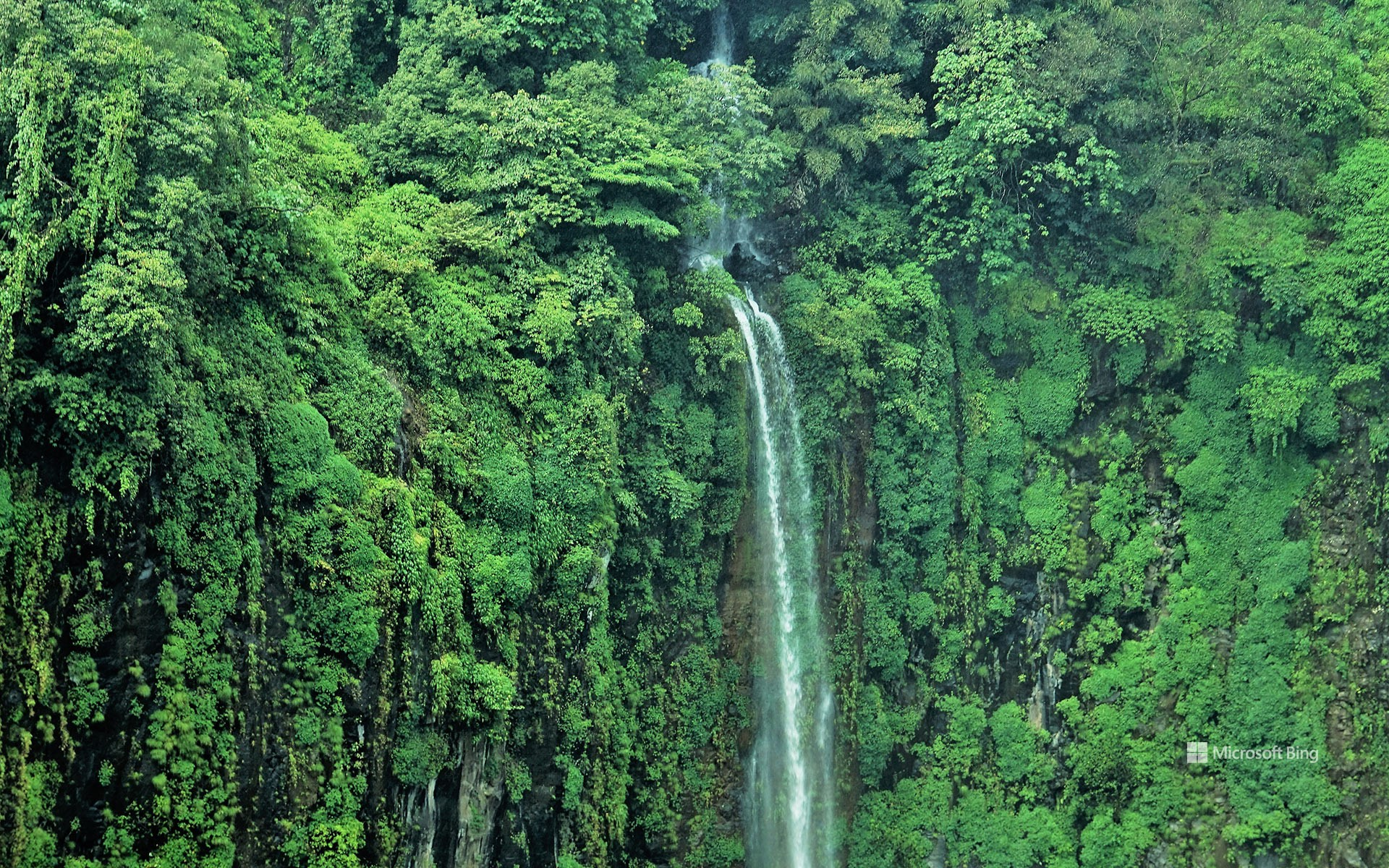 Thoseghar waterfalls in Maharashtra, India