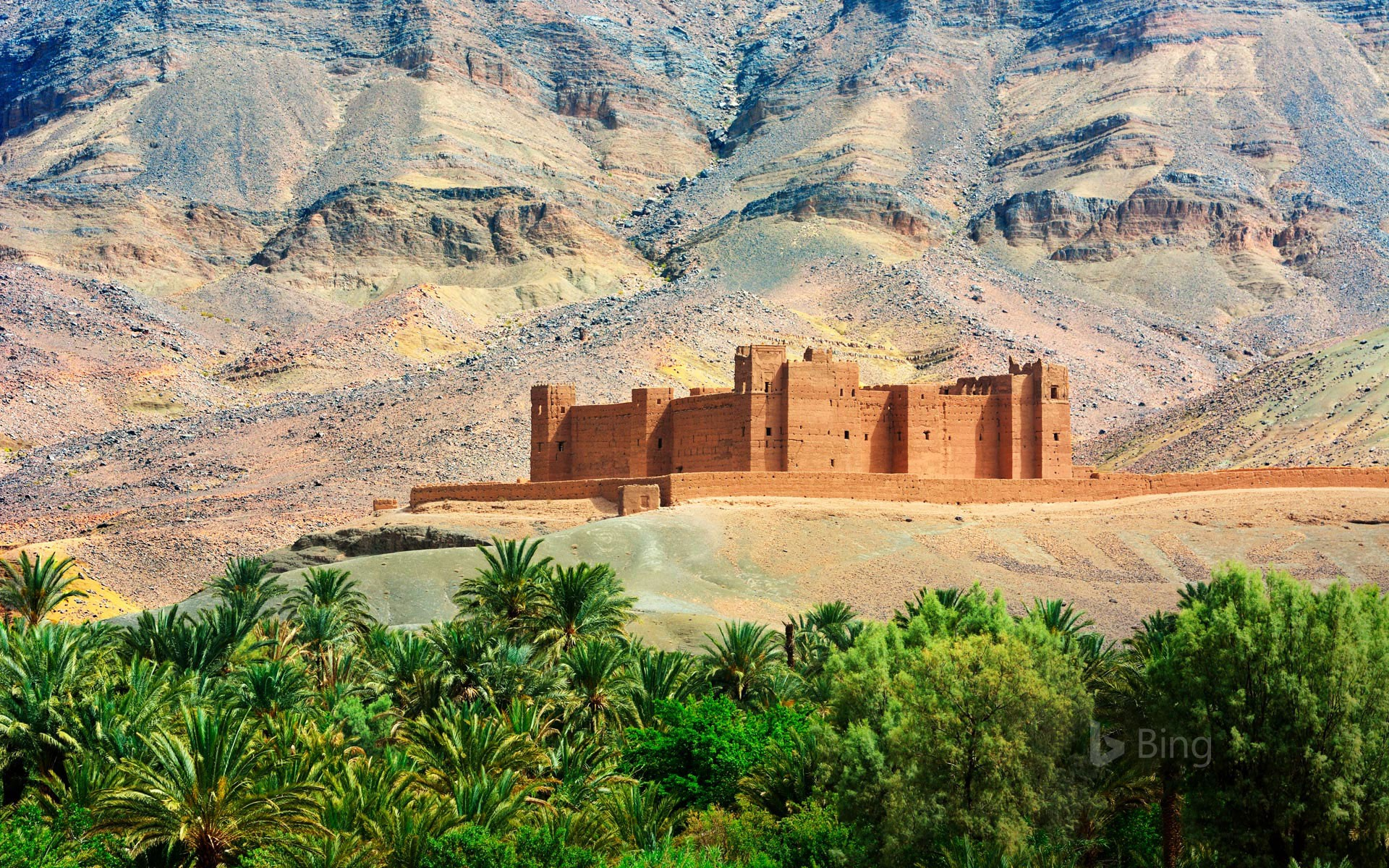 Timiderte Kasbah, Draa Valley, Morocco