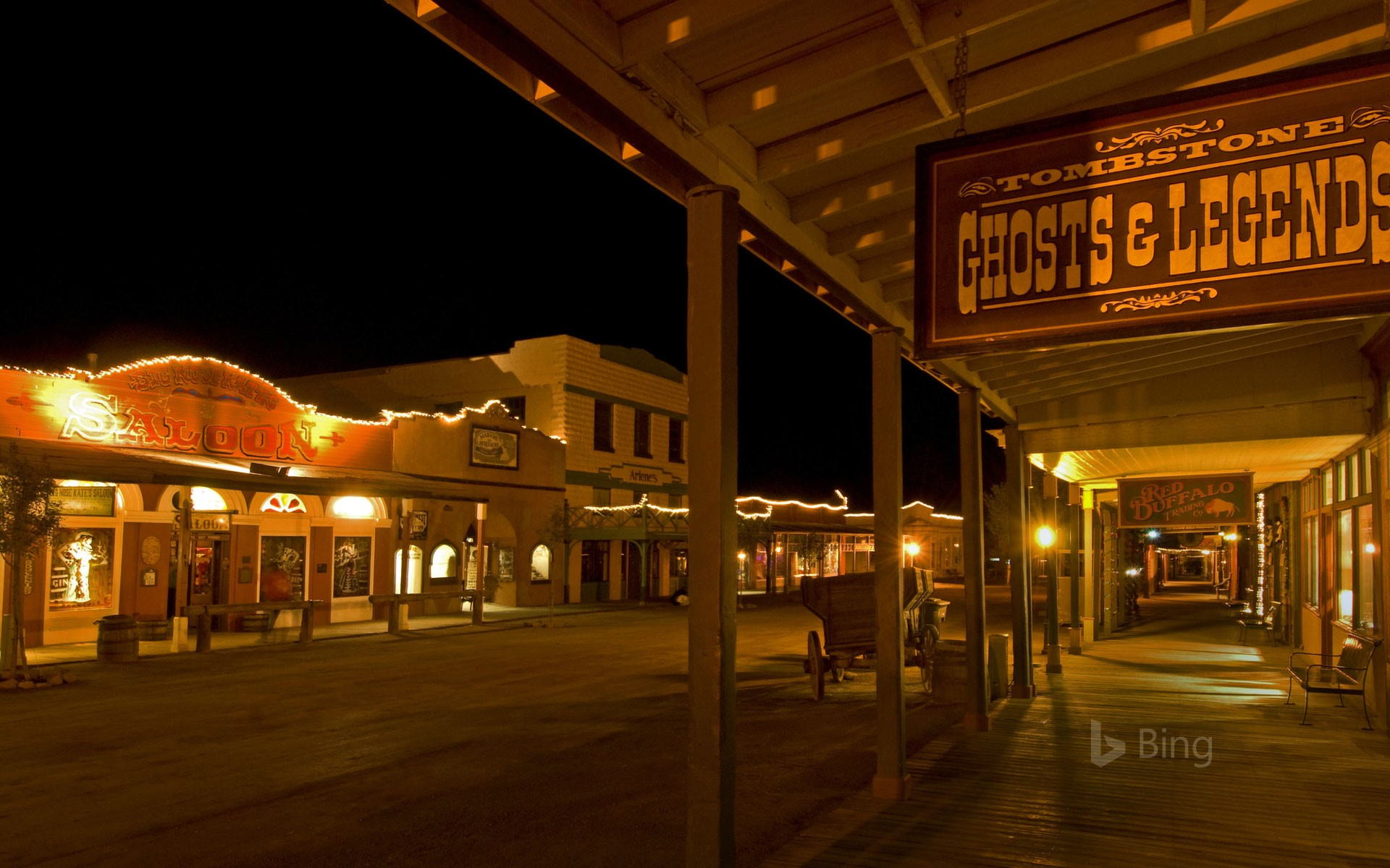 Tombstone, Arizona, on the anniversary of the gunfight at the O.K. Corral