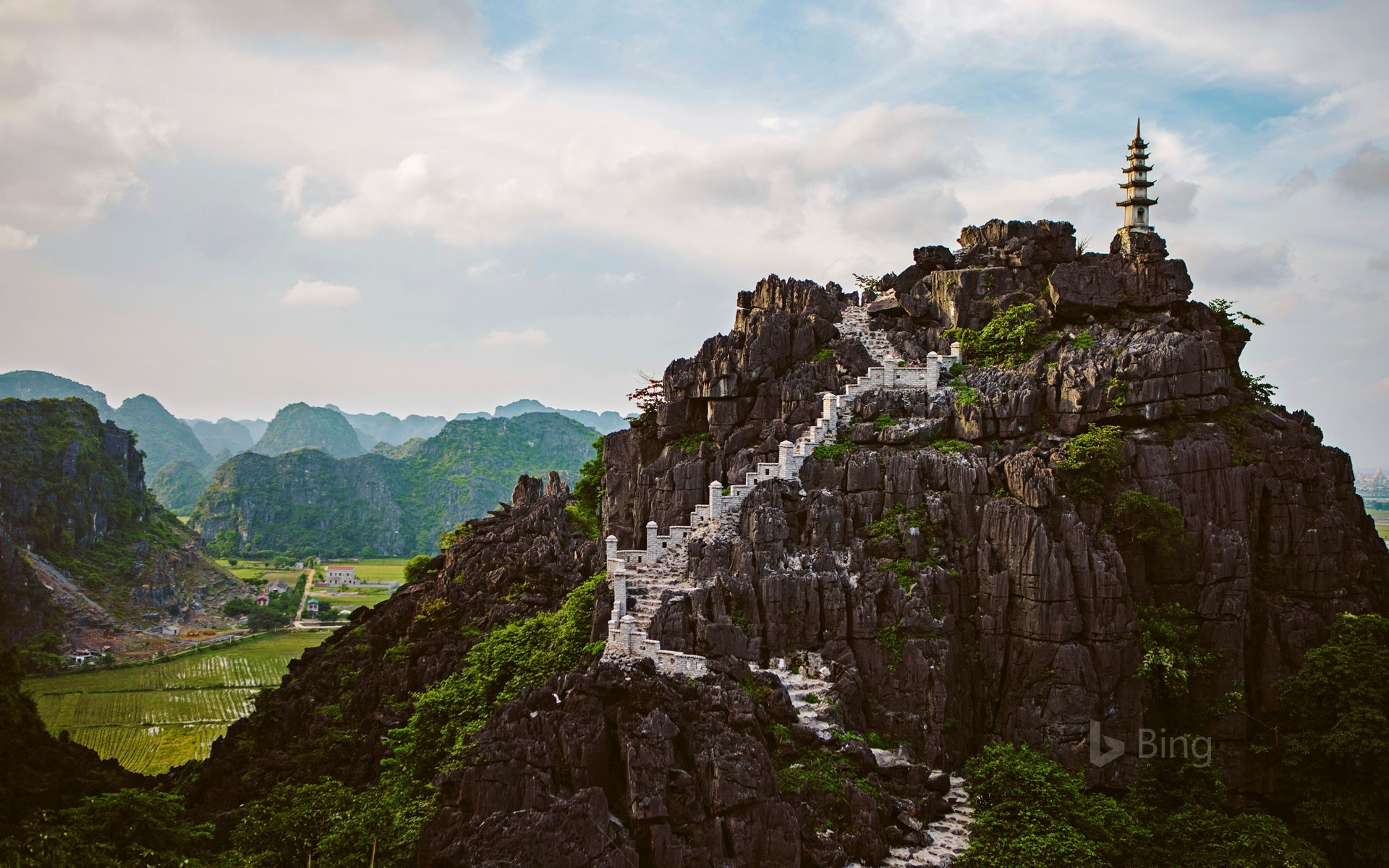 Mua Caves in the Ninh Bình province of Vietnam