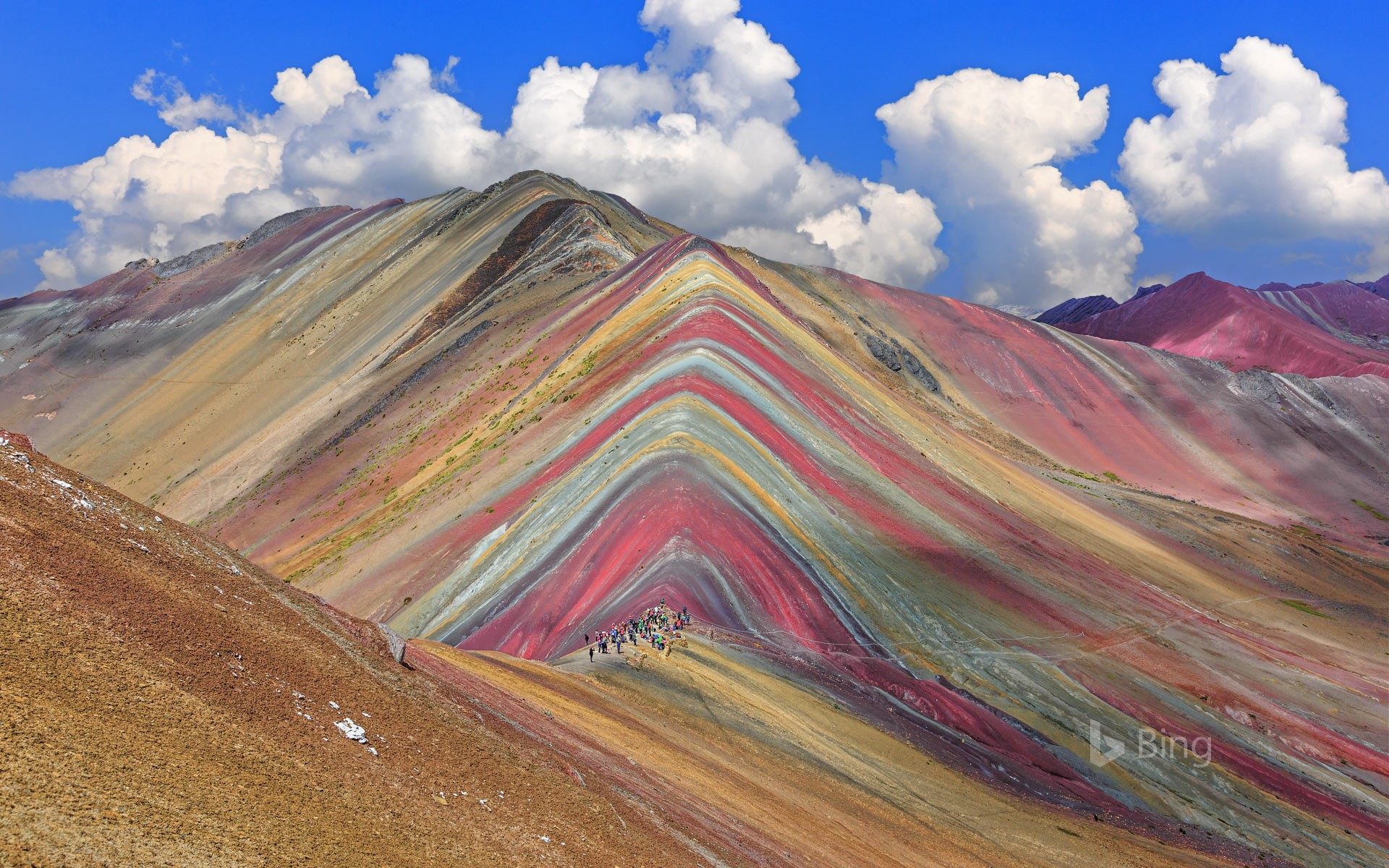 Vinicunca Mountain in the Cusco Region of Peru (© sorincolac/Getty Images)