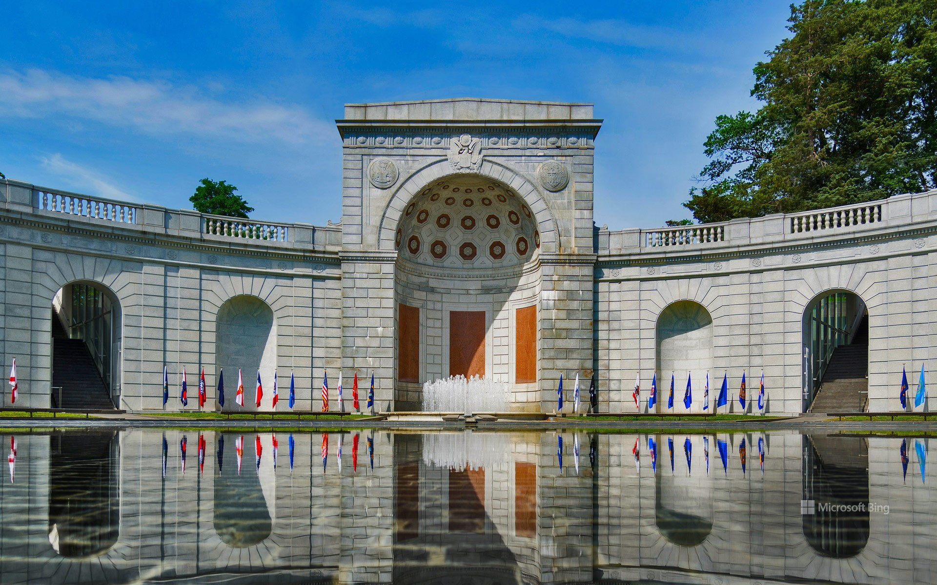 Military Women's Memorial, located at the gateway to Arlington National Cemetery, Virginia