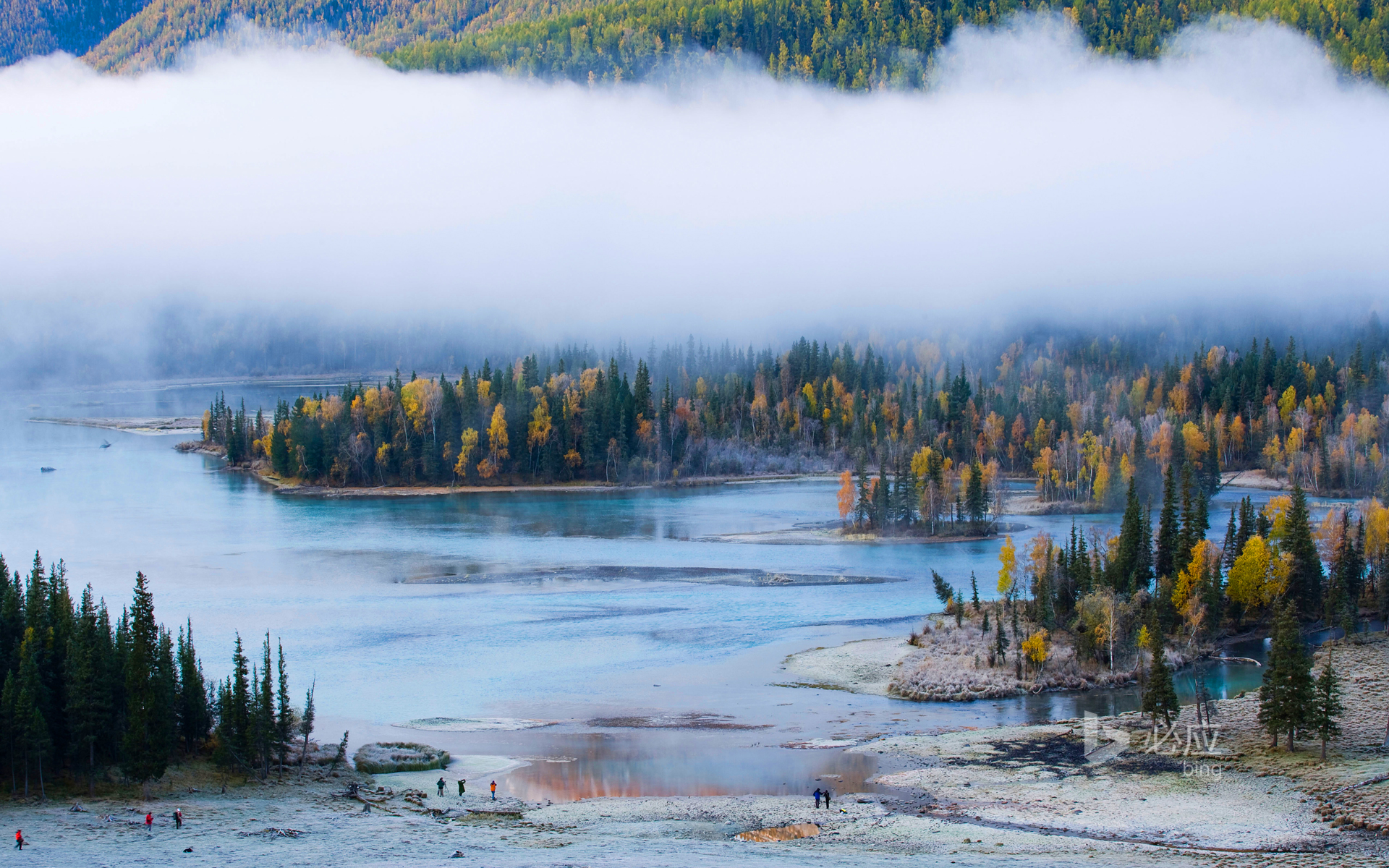 Xinjiang Altai Mountains, Kanas Lake