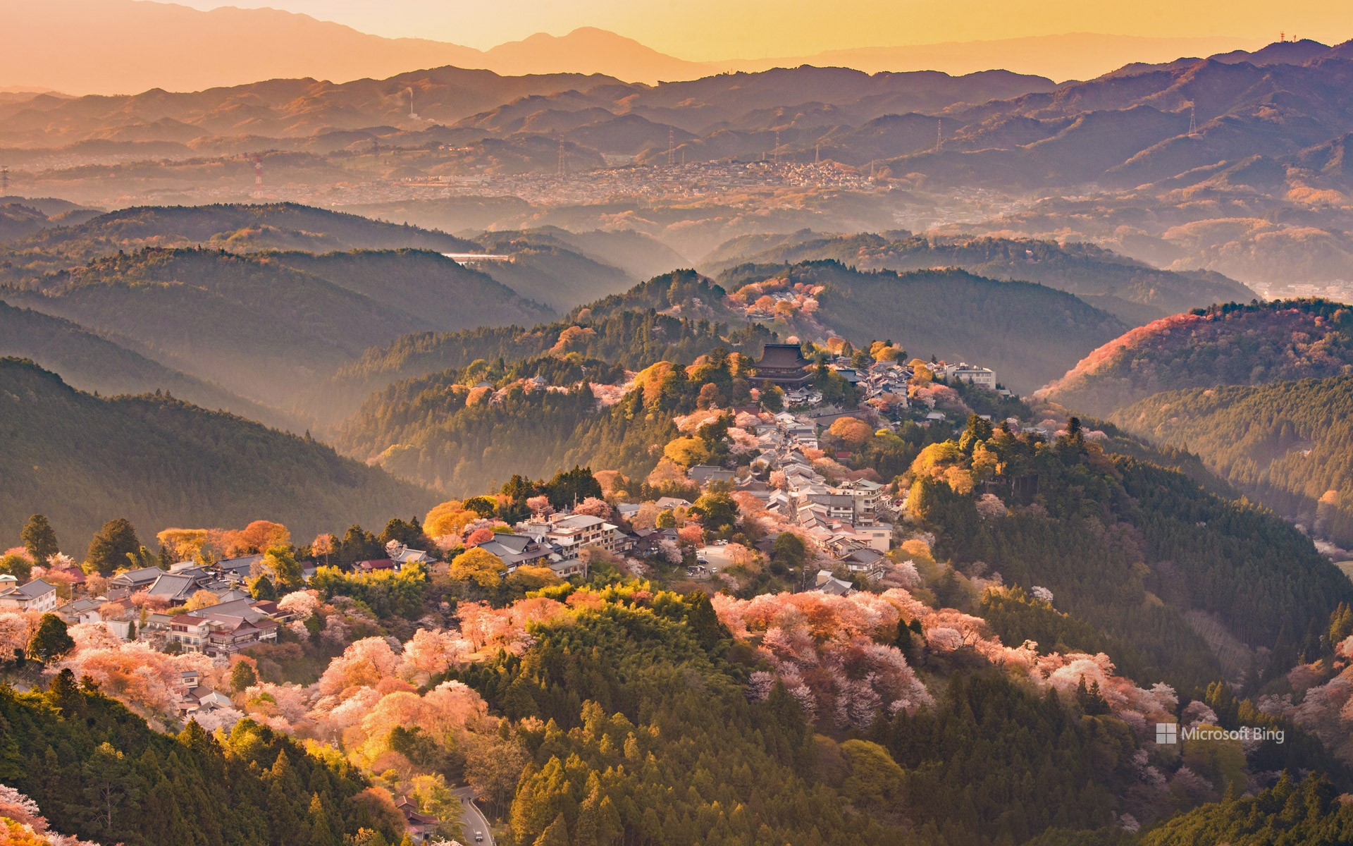 Mount Yoshino, Nara Prefecture, Japan